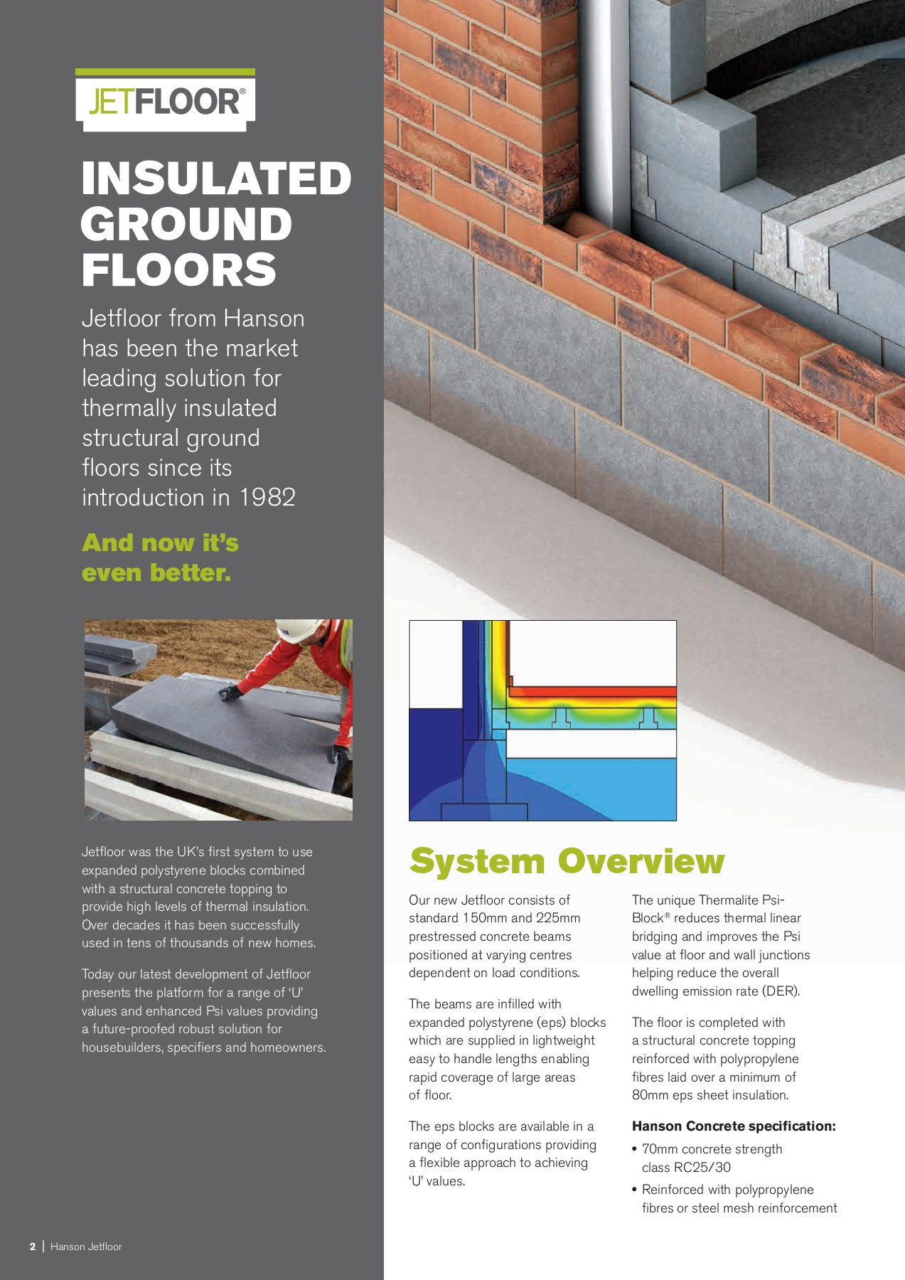 Insulated Ground Floors Forterra Jetfloor Co Uk Pages 1