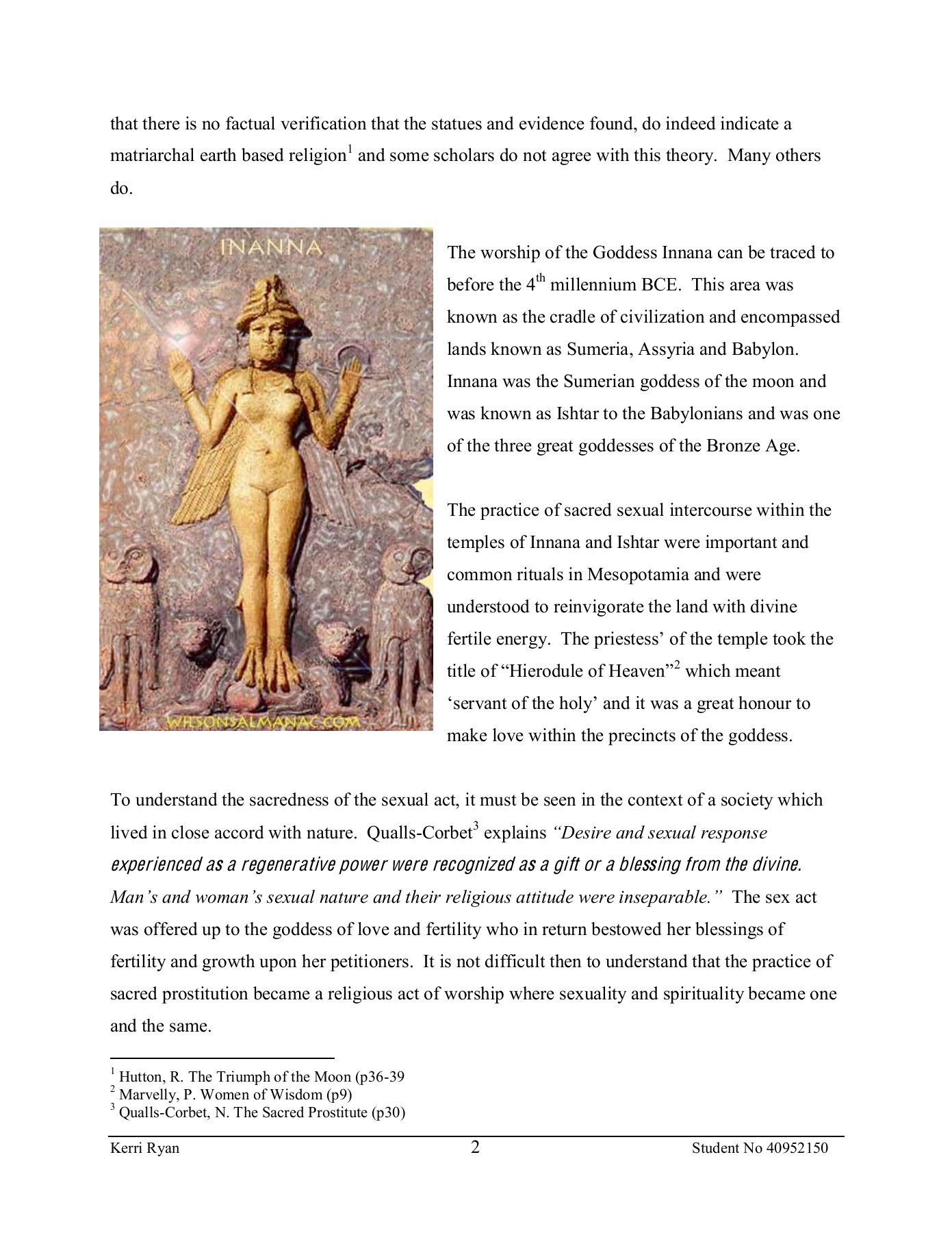 Tantric sex and sacred prostitutes