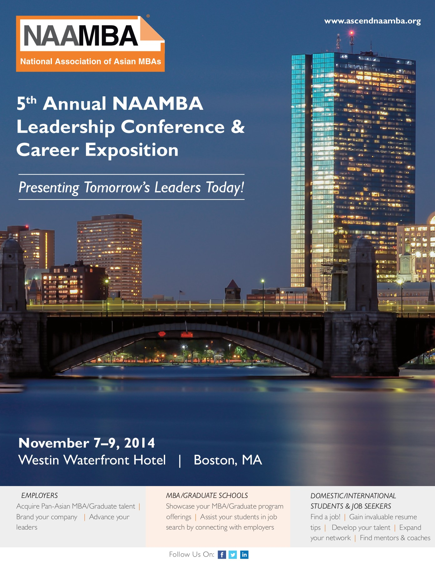 5th Annual NAAMBA Leadership Conference & Career Exposition