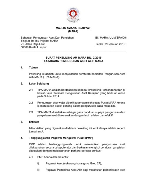 Pekeliling Jkpap Pages 1 50 Text Version Anyflip