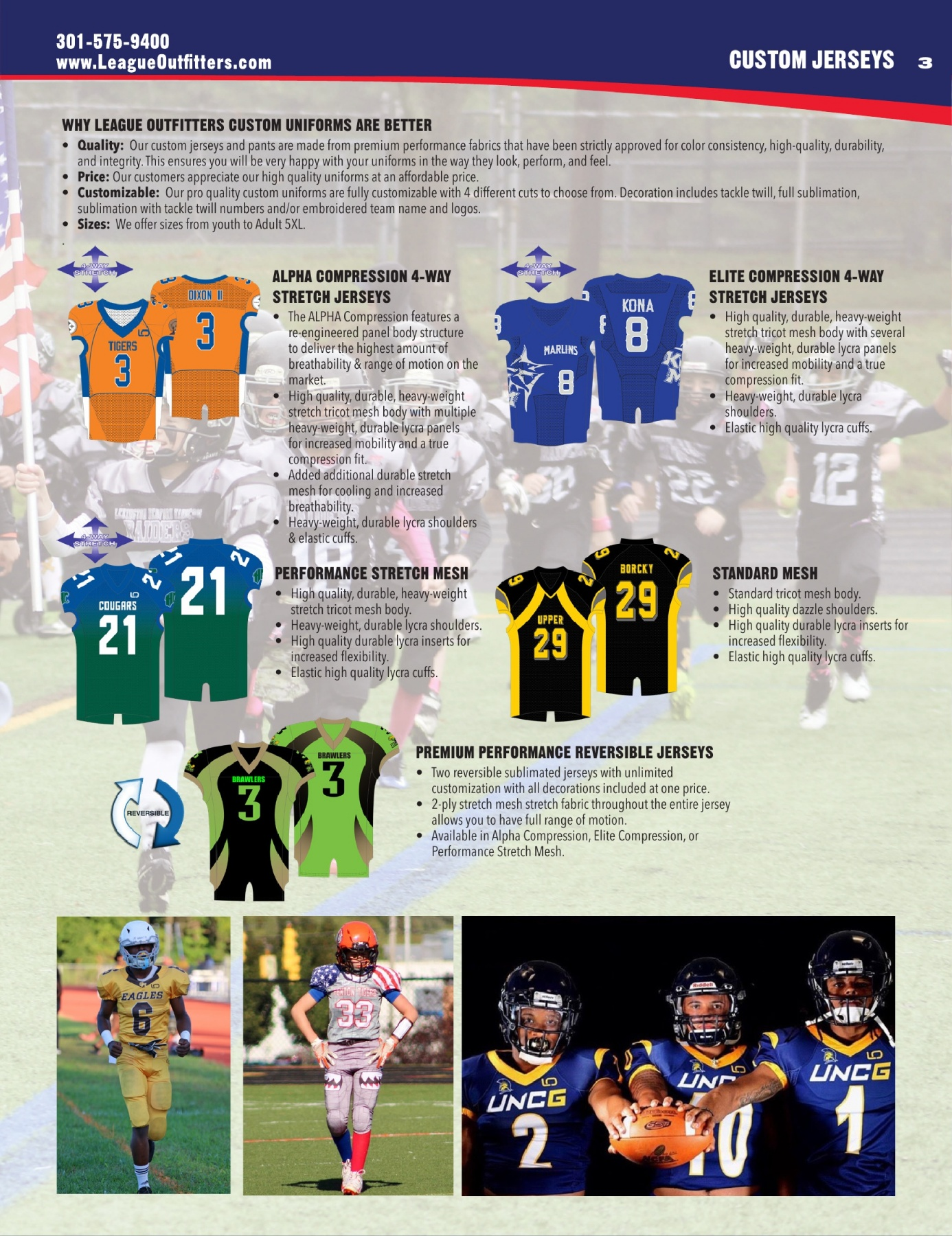 efde70c1 League Outfitters 2019 Football Catalog Pages 1 - 40 - Text Version |  AnyFlip