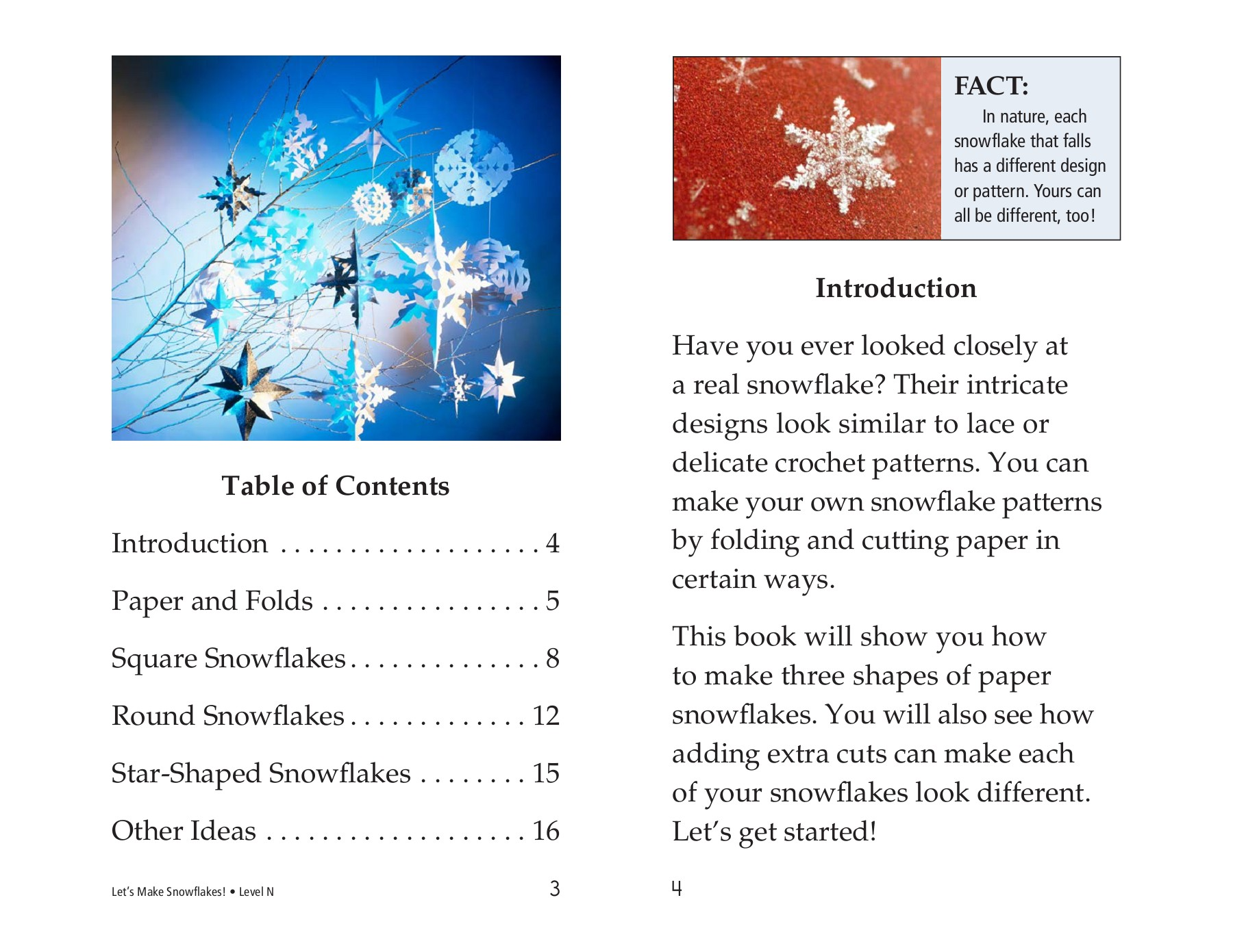 Reading A Z Lets Make Snowflakes Pages 1 9 Text Version Anyflip Snowflakescrochetpatterndiagram