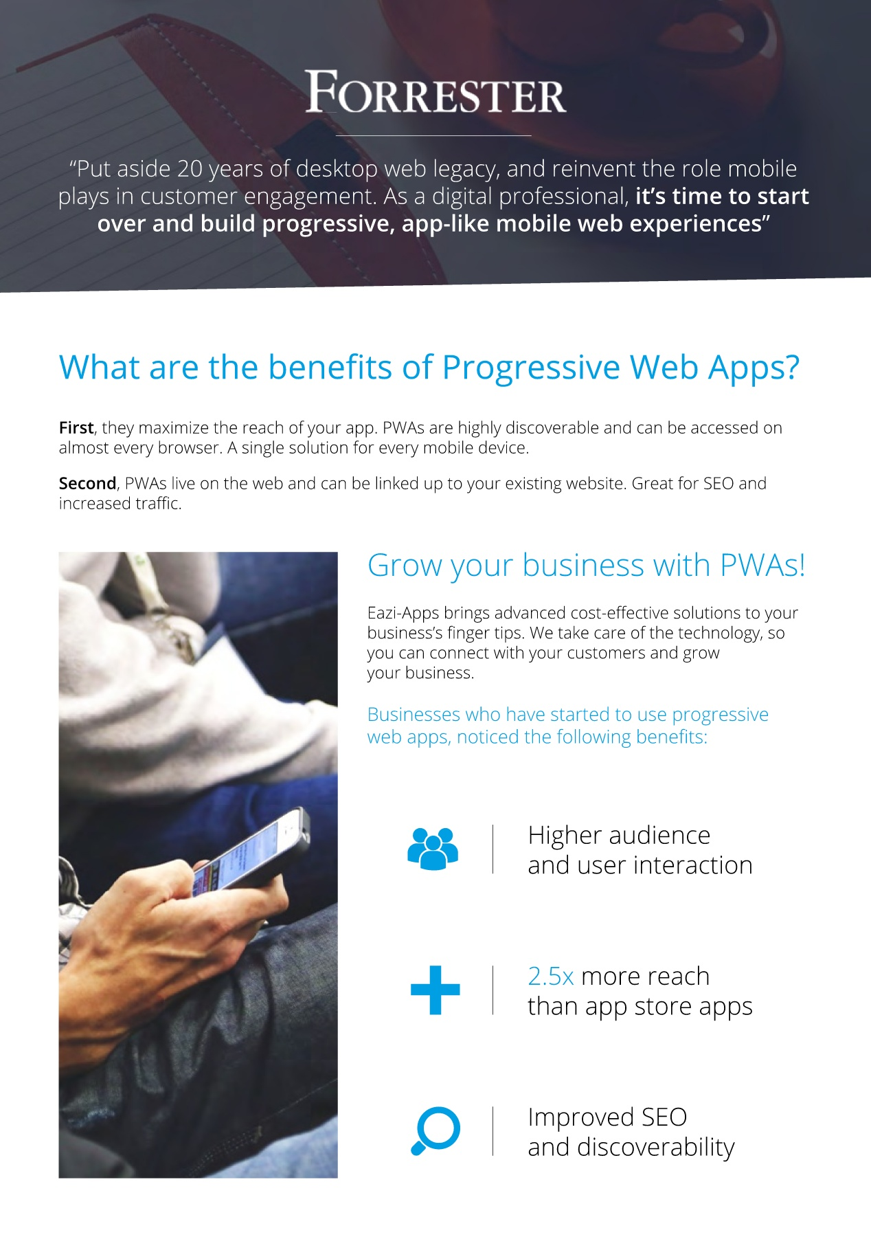 Progressive Web Apps Brochure Pages 1 - 4 - Text Version | AnyFlip