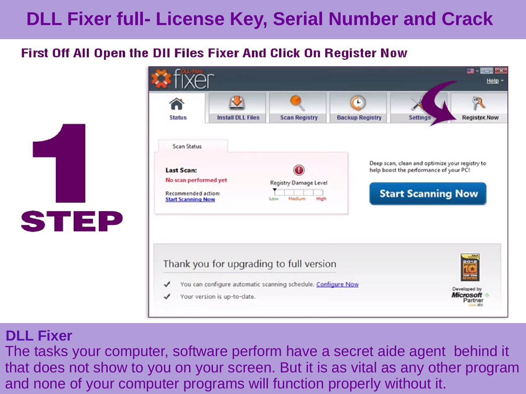 license key for dll files fixer