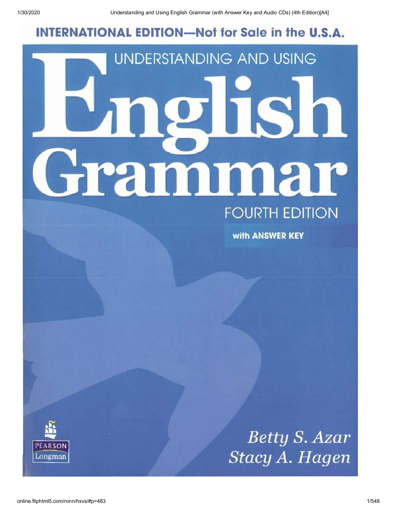 Understanding And Using English Grammar With Answer Key And Audio Cds 4th Edition A4 Flip Ebook Pages 1 50 Anyflip Anyflip