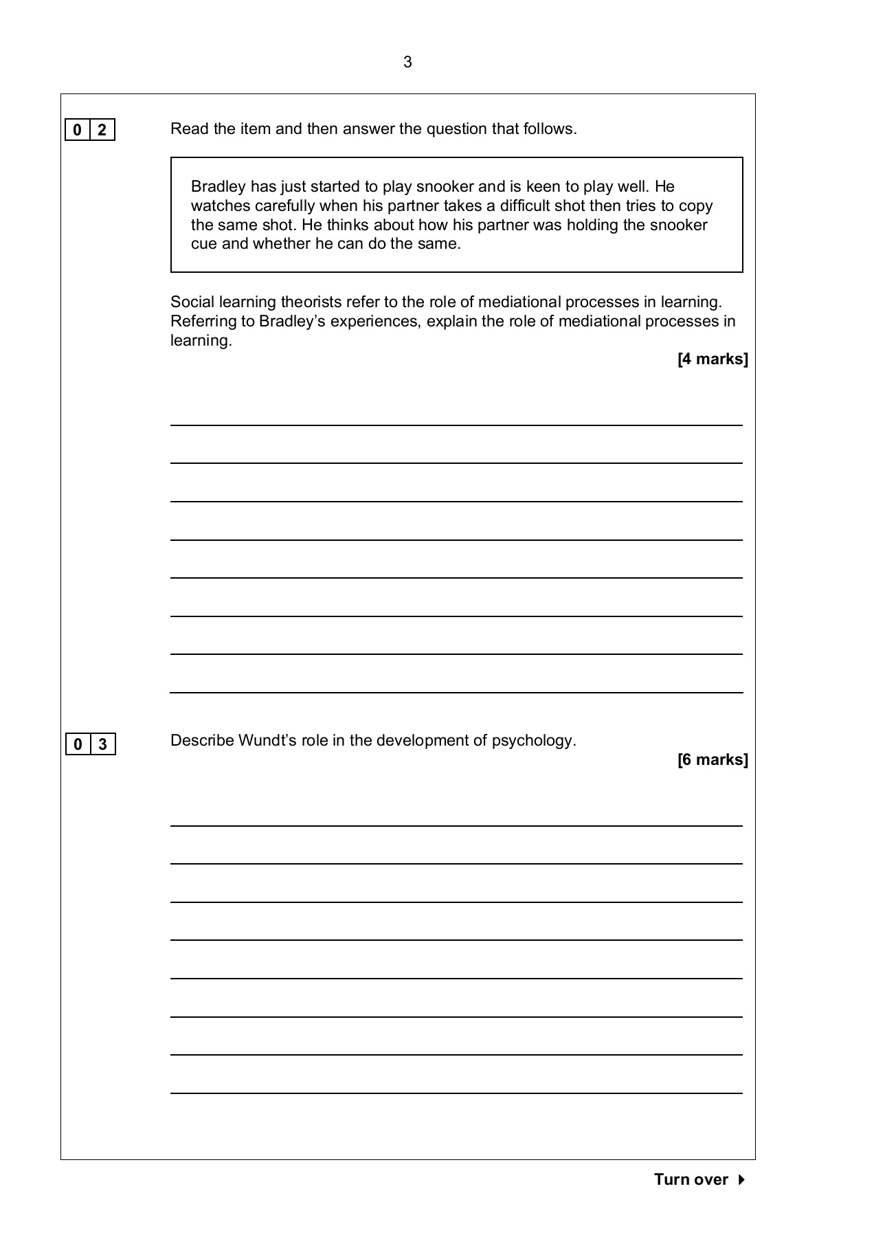 AL Paper 2 2nd Specimen paper Pages 1 - 20 - Text Version