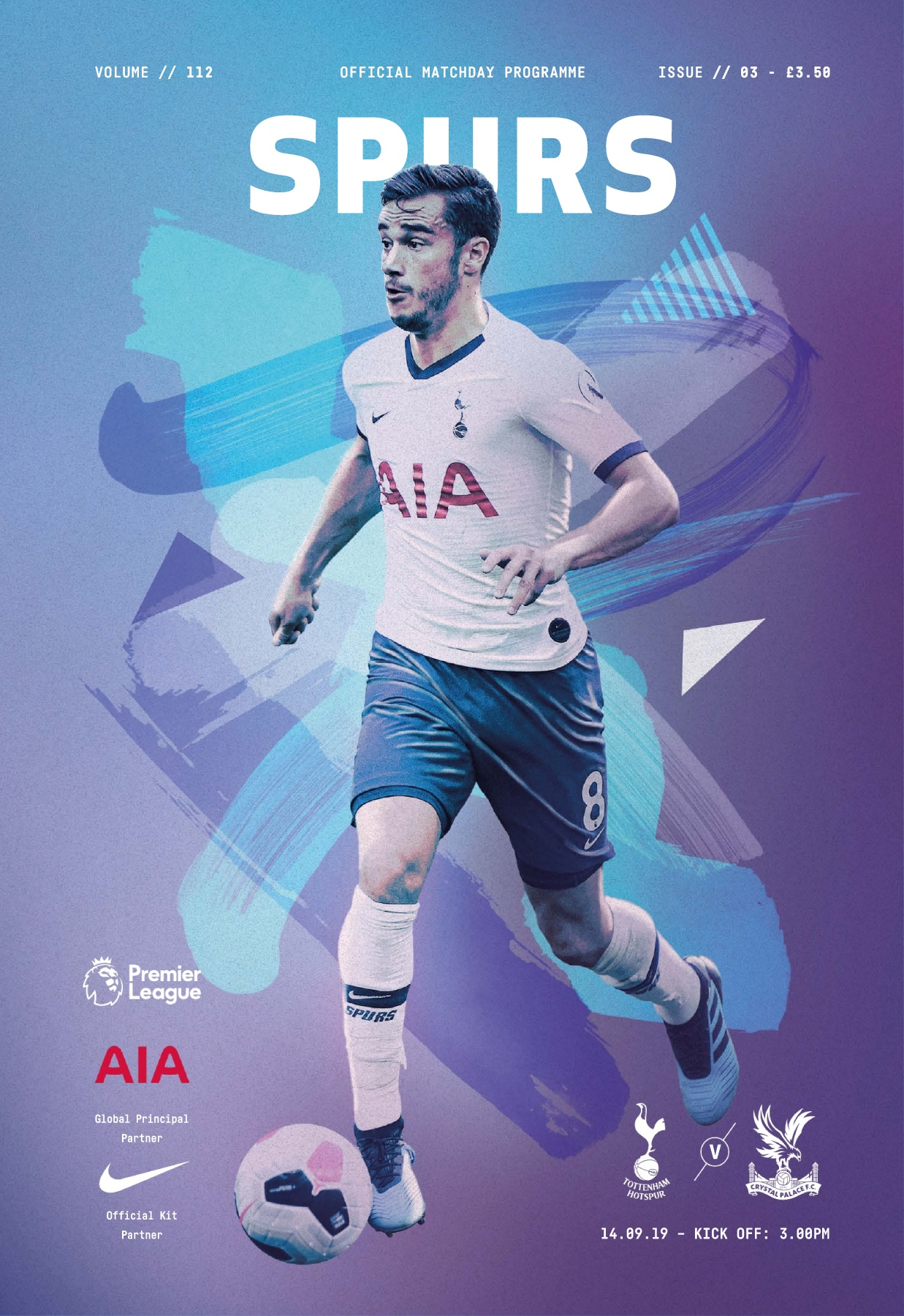 Spurs V Crystal Palace Pages 1 50 Text Version Anyflip