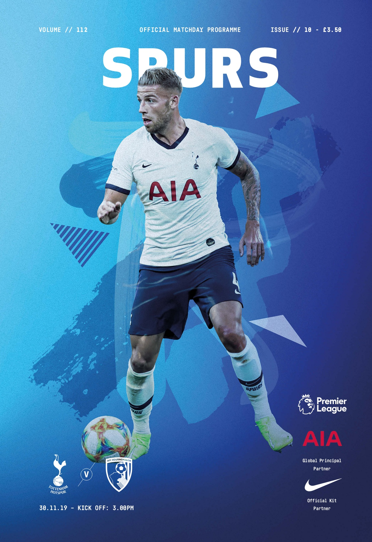Spurs V Bournemouth Magzter Pages 1 50 Text Version Anyflip