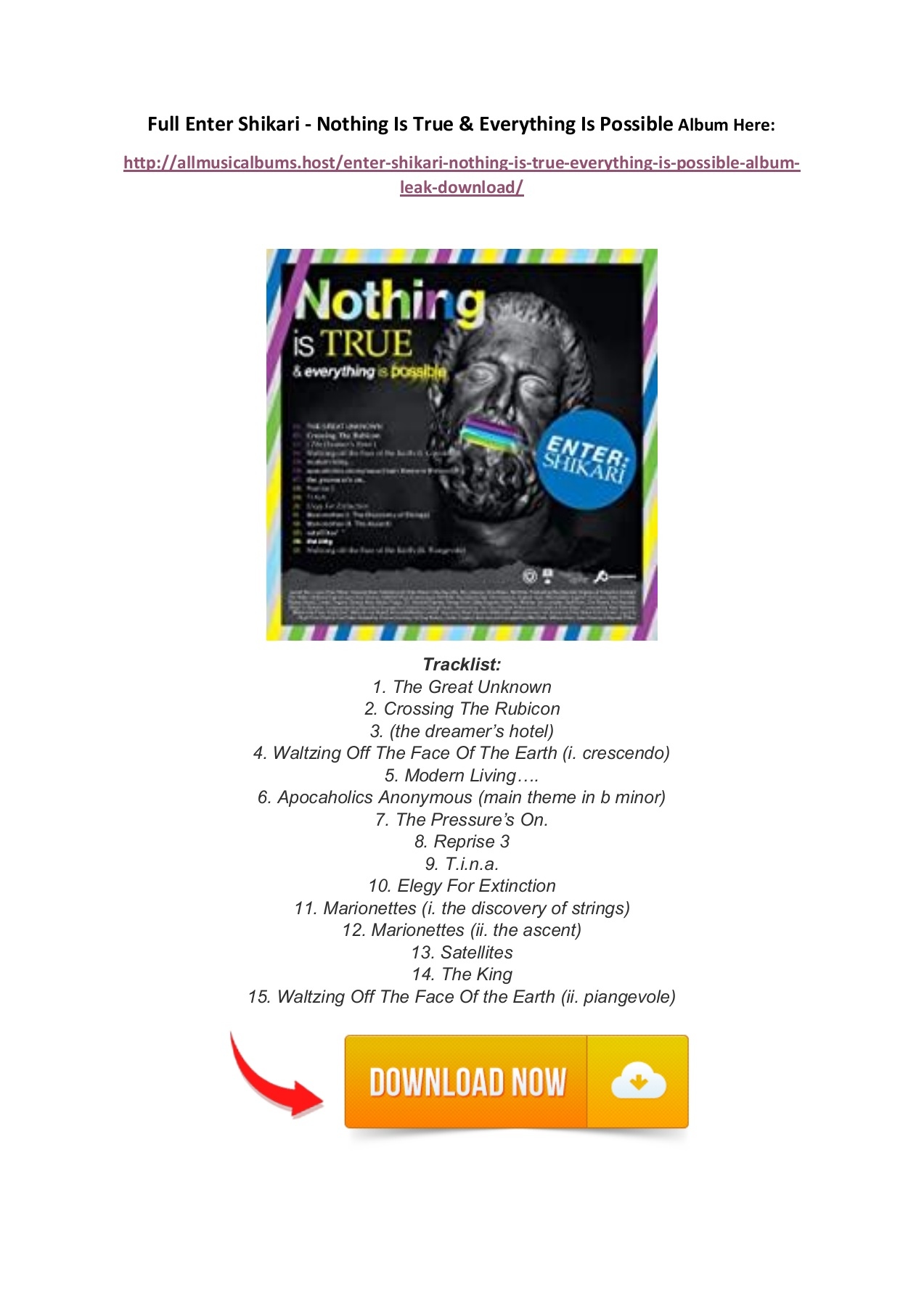 Download Download The Album About Nothing Zip Pics