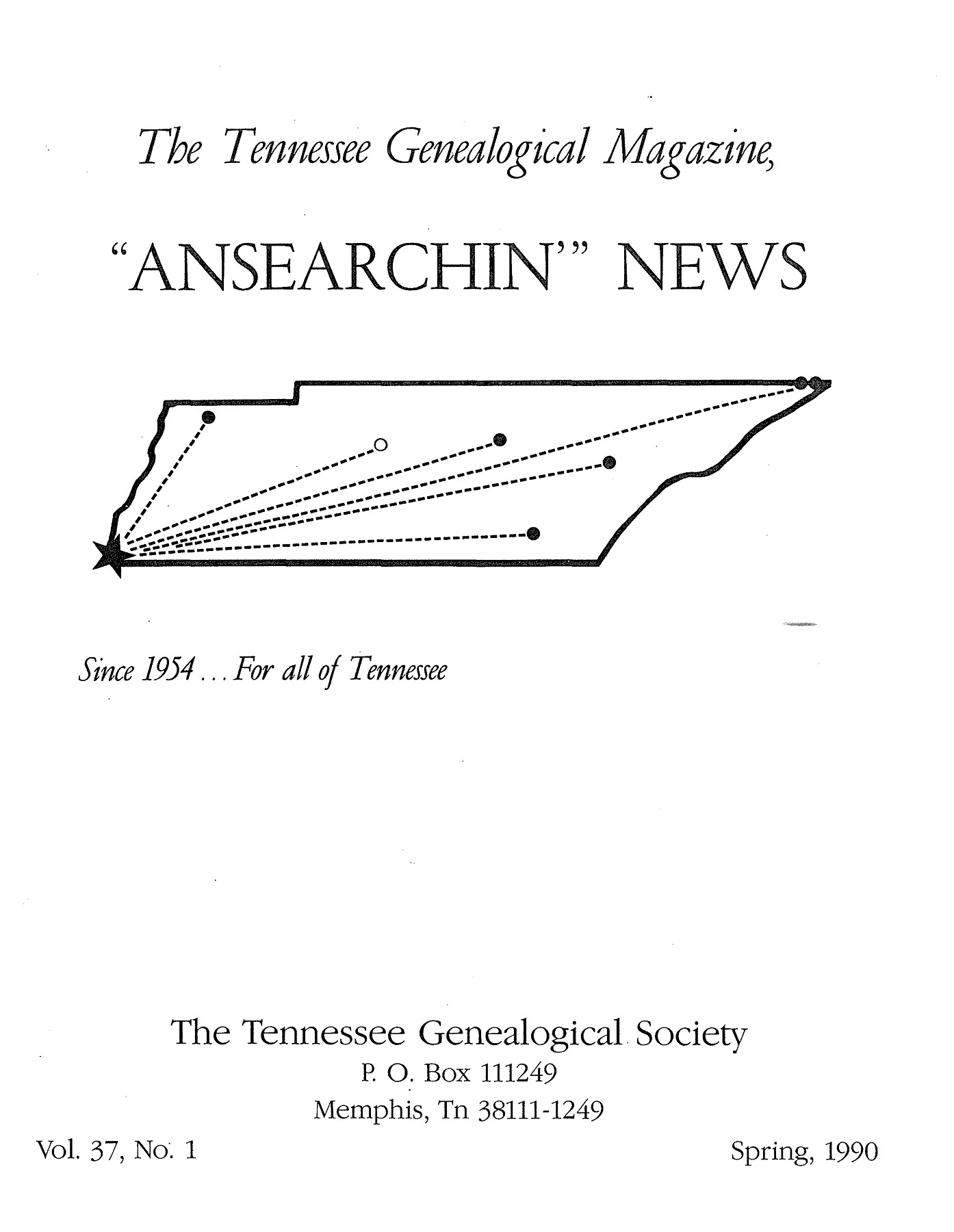 The Tennessee Genealogical Magazine