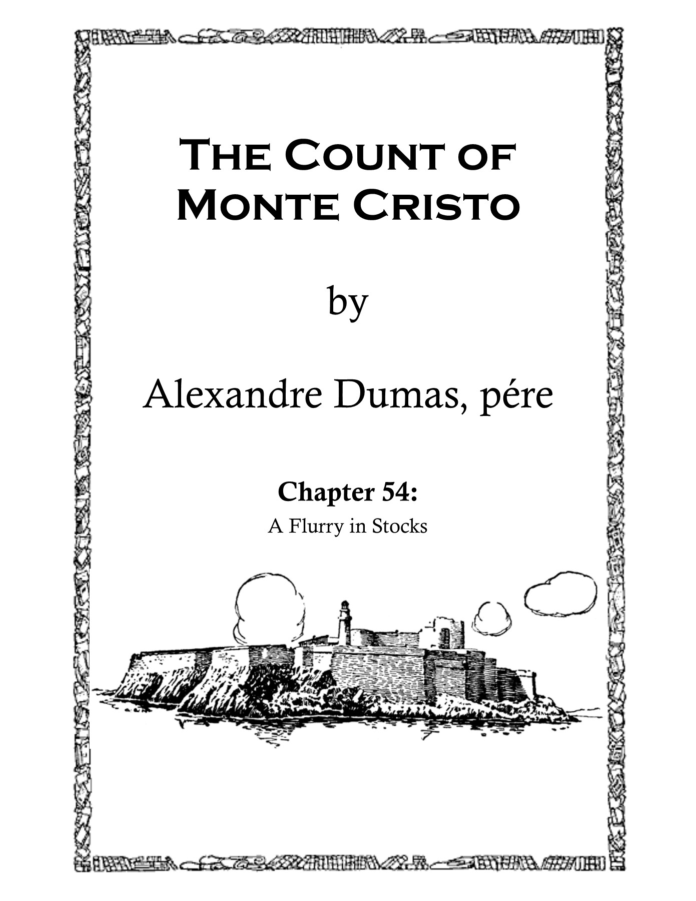 The Count Of Monte Cristo Etc Usf Edu Pages 1 16 Text