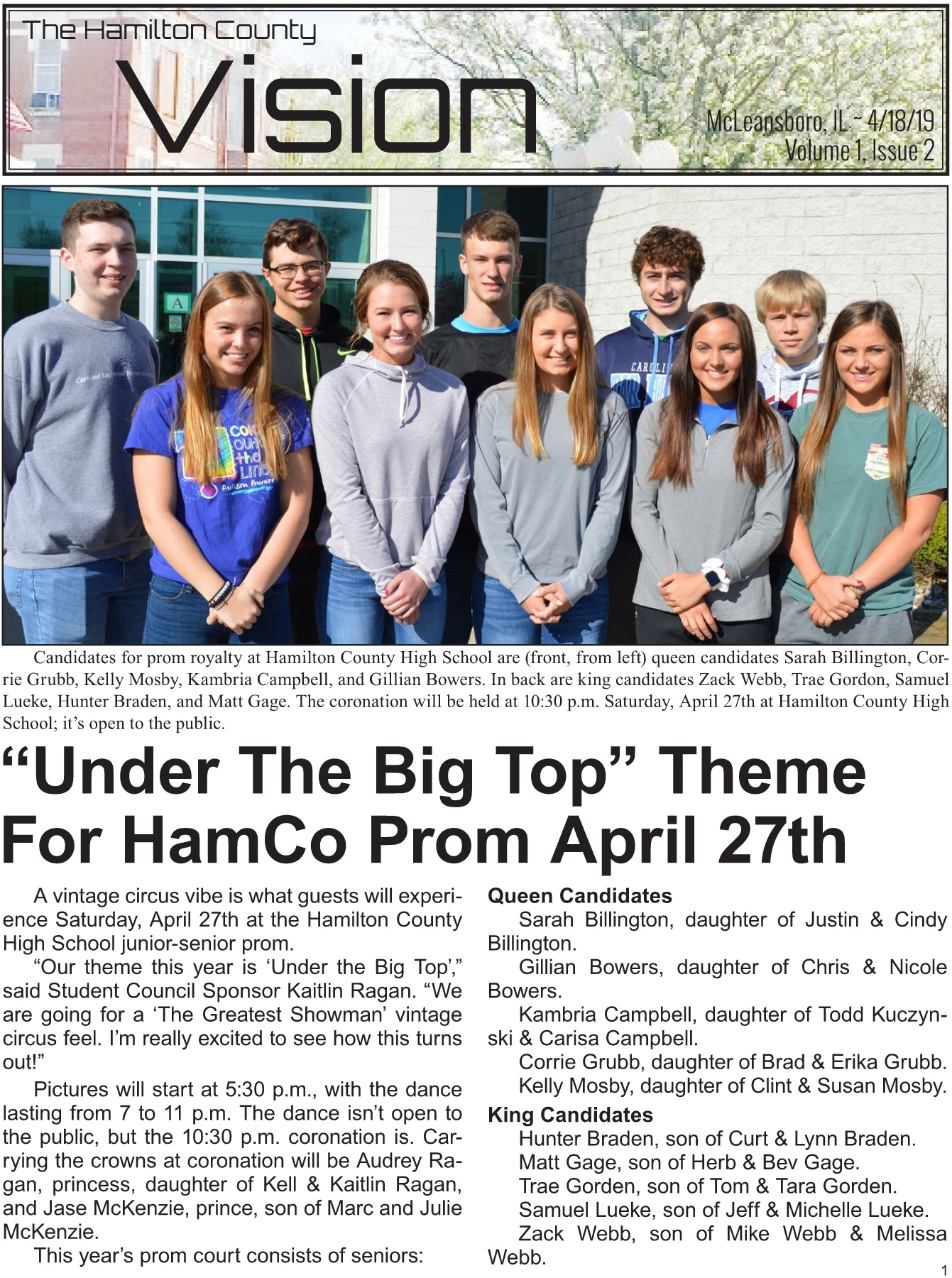 VISION April 18, 2019 Pages 1 - 19 - Text Version | AnyFlip
