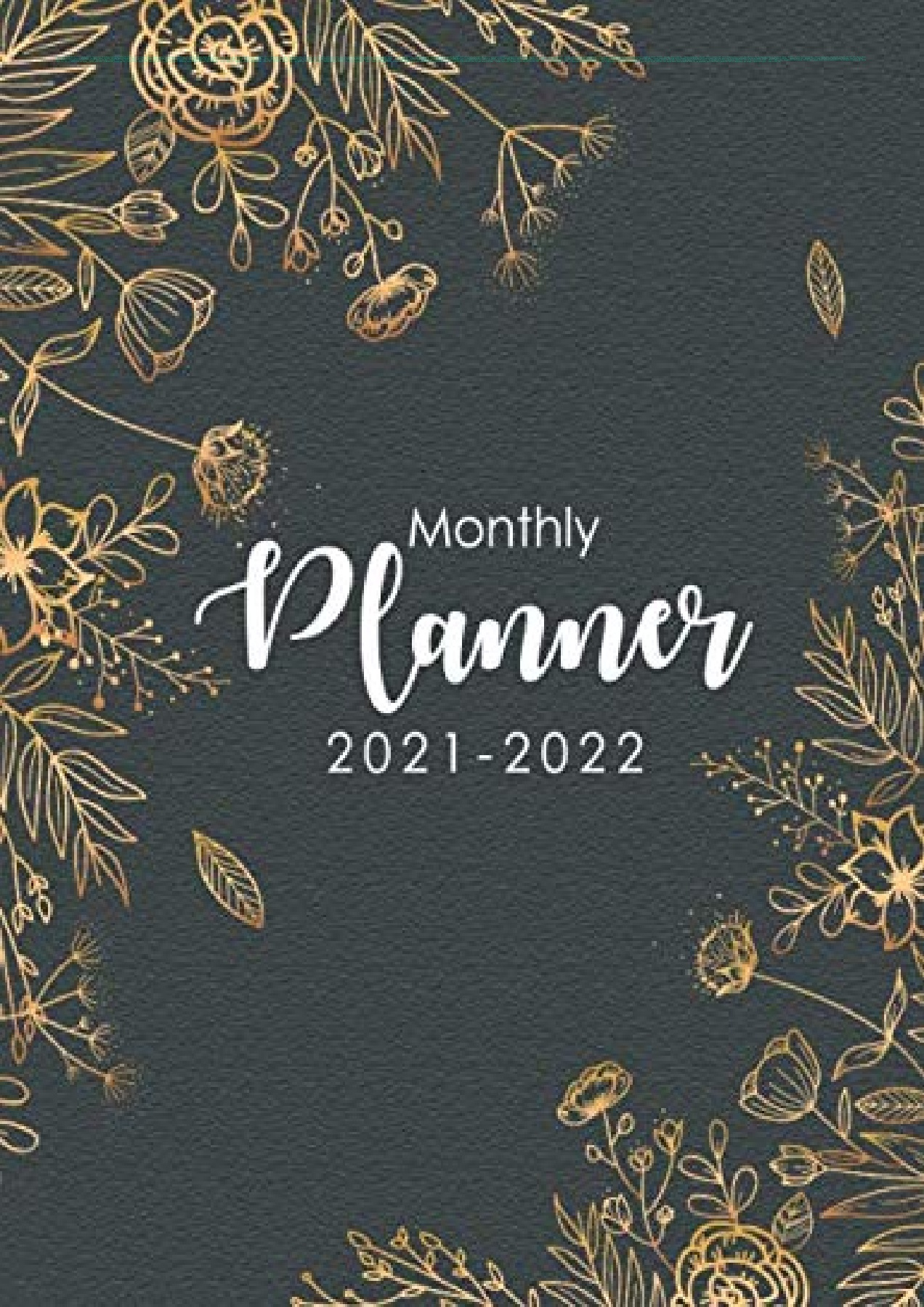 Ou Calendar 2022.Pdf 2021 2022 Monthly Planner Floral Golden Black Cover Two Year Appointment Book 2 Year Monthly Calendar 2021 2022 24 Months Planner With Holiday Planners January 2021 December 2022 Full