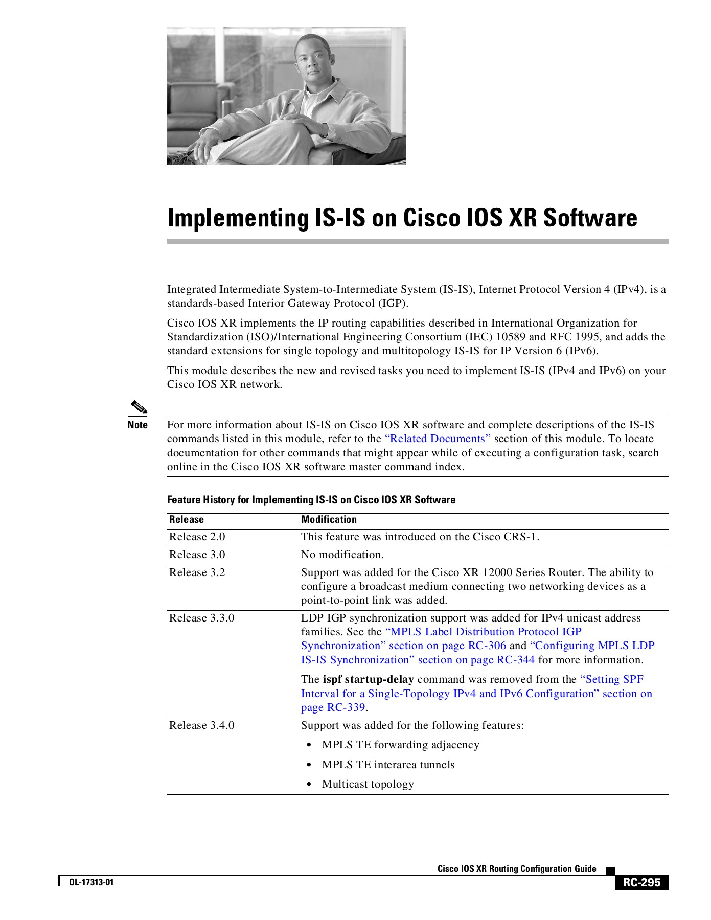 Implementing IS-IS on Cisco IOS XR Software Pages 51 - 64