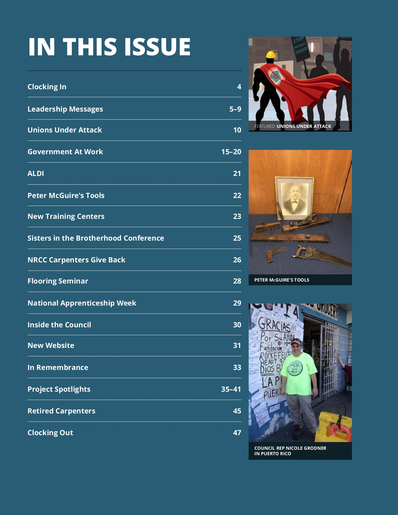 The Digital Carpenter, Vol  2 Issue 1 Pages 1 - 48 - Text Version