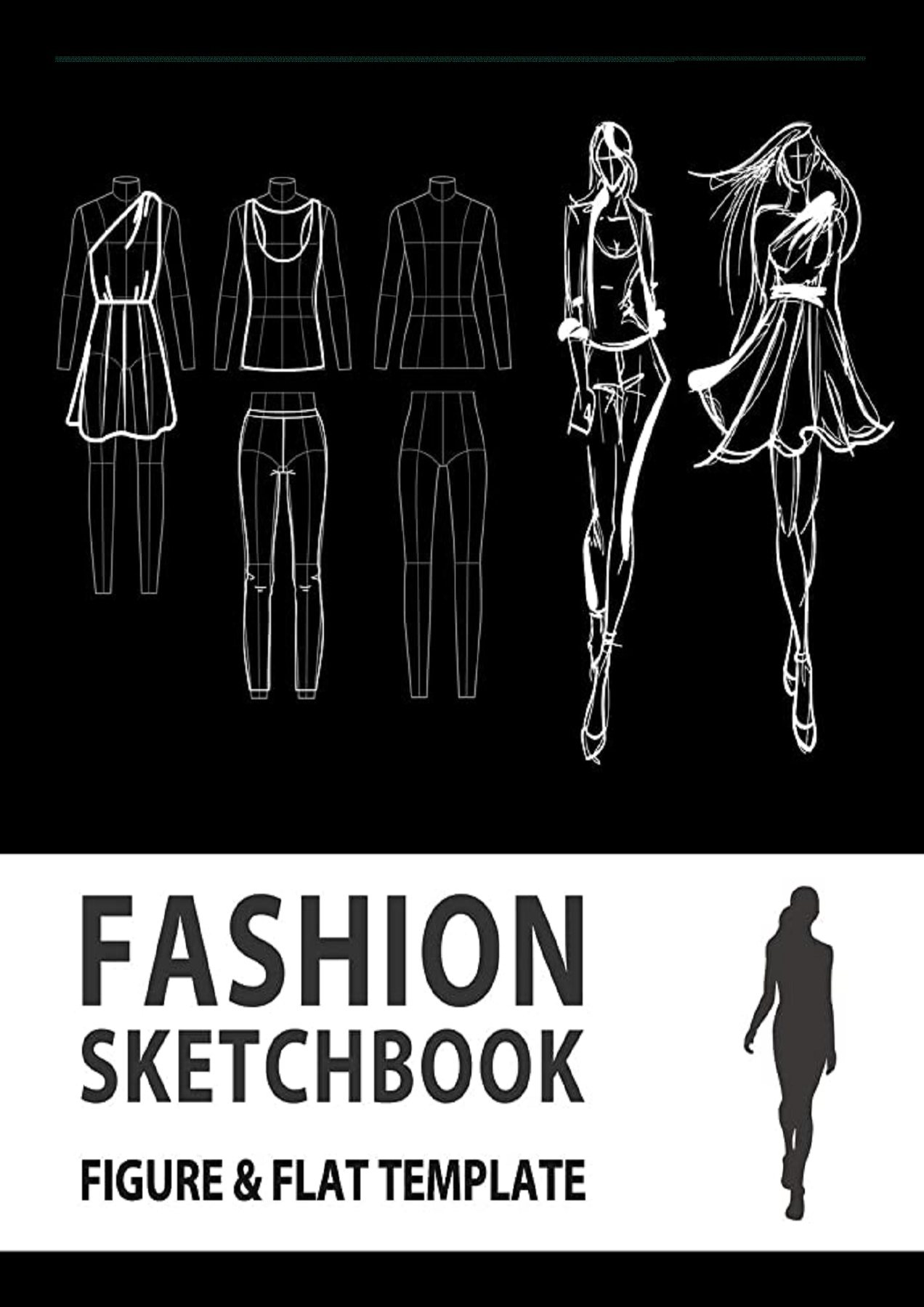 Pdf Download Fashion Sketchbook Figure Flat Template Easily Sketching And Building Your Fashion Design Portfolio With Large Female Croquis Drawing Your Fashion Flats With Flat Template Fashion Flats Drawing Full