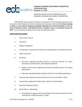 March Board Meeting Documents Pages 1 - 50 - Text Version