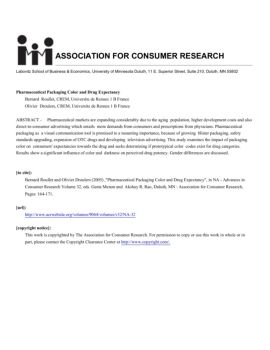 association consumer research call papers Association for consumer research - acr my primary research focuses on the study of attitudes, persuasion, and social influence within this broad area of research, i have primarily been interested in two.