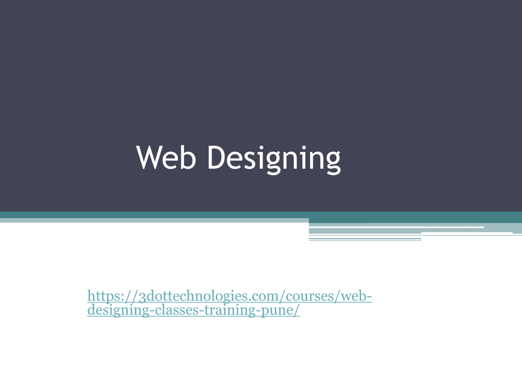 Best Web Designing Courses In Pune Web Designing Classes In Pune 3dot Technologies 3dot Pages 1 5 Text Version Anyflip
