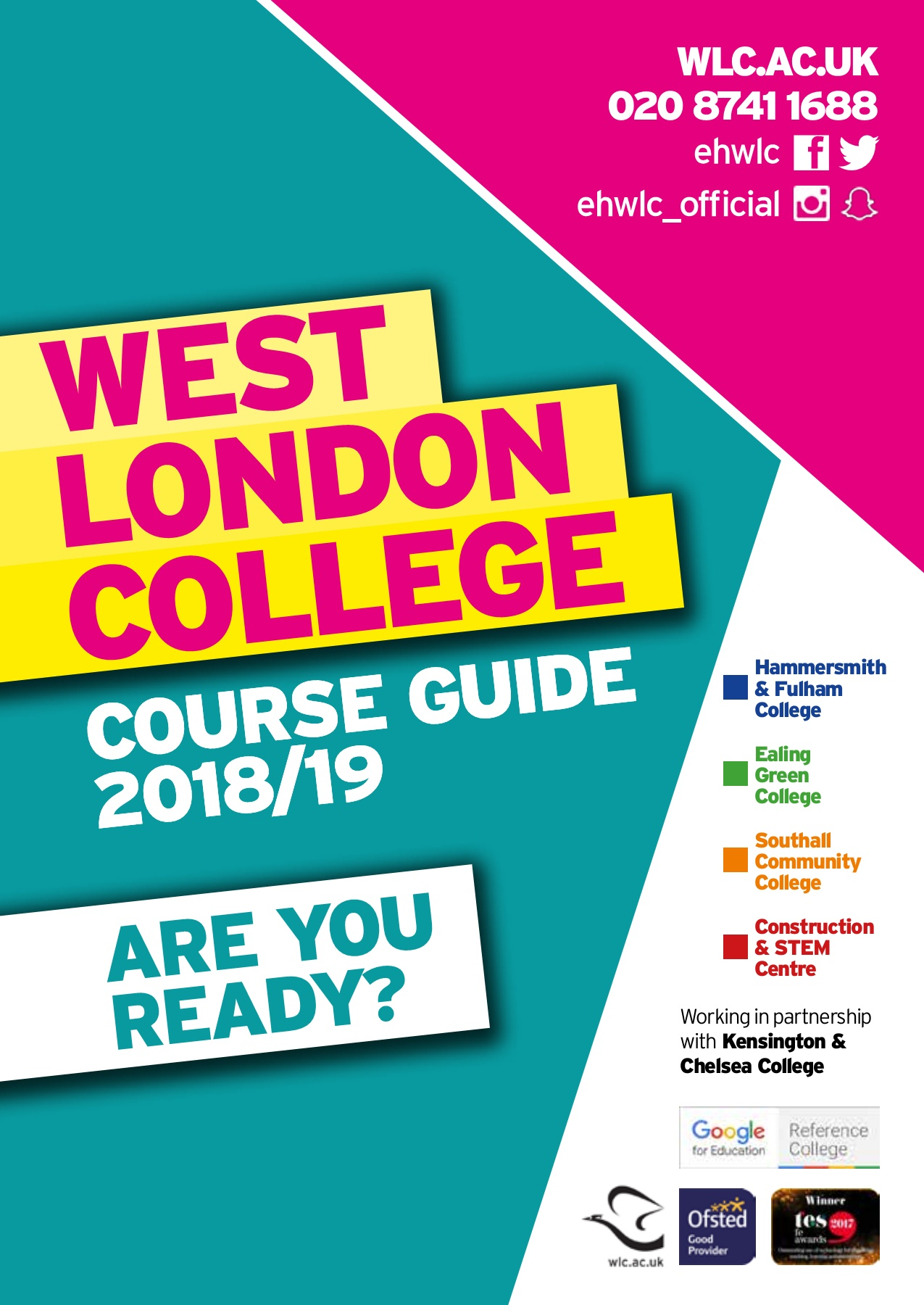 West London College Course Guide 18 19