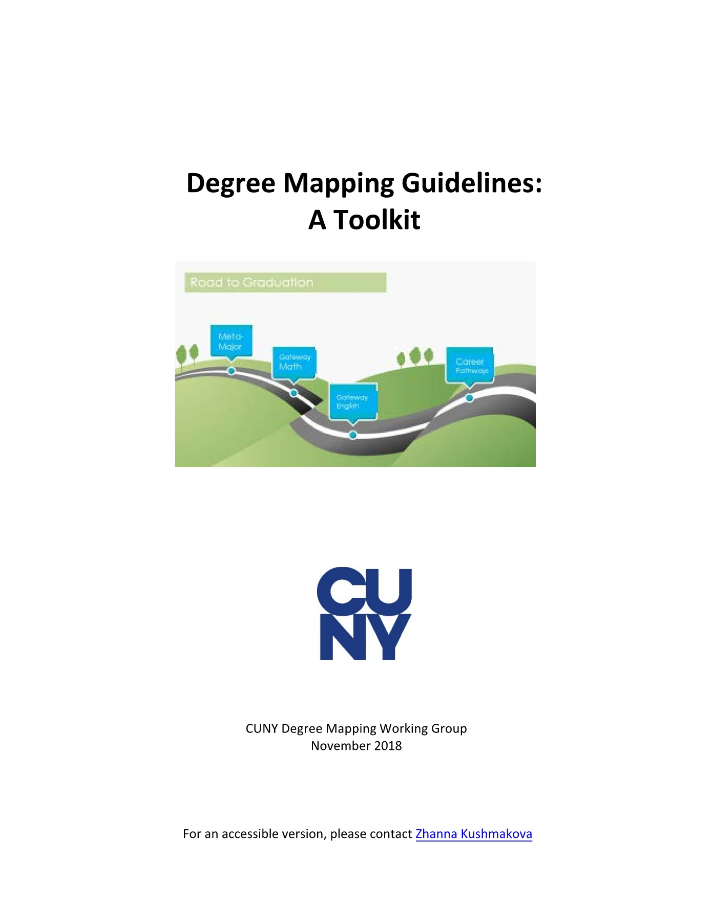 CUNY Degree Mapping Toolkit Pages 1 - 50 - Text Version
