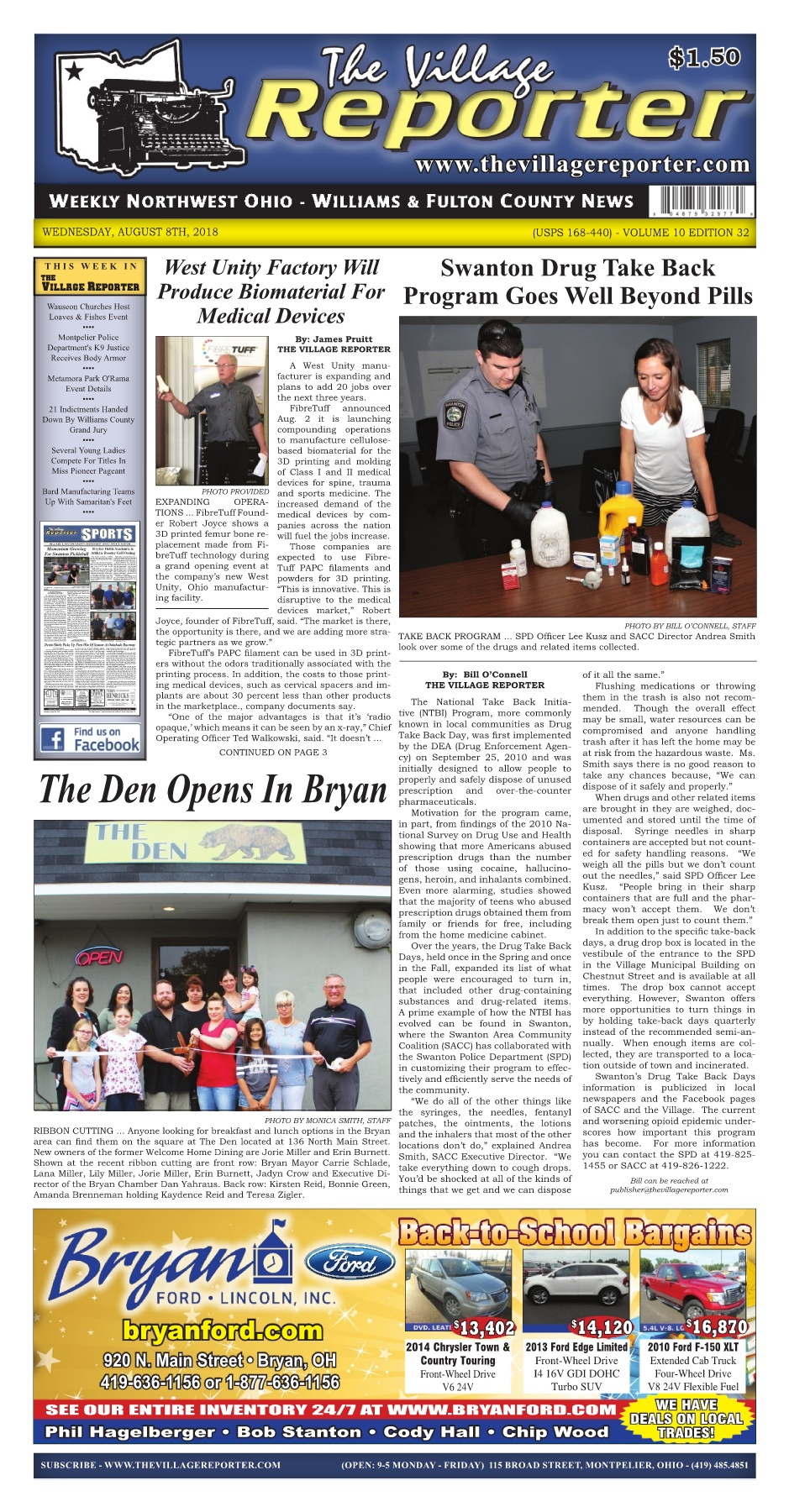 The village reporter august 8th 2018 pages 1 38 text version the village reporter august 8th 2018 fandeluxe Images