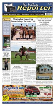 The Village Reporter - October 26th, 2016 Pages 1 - 50