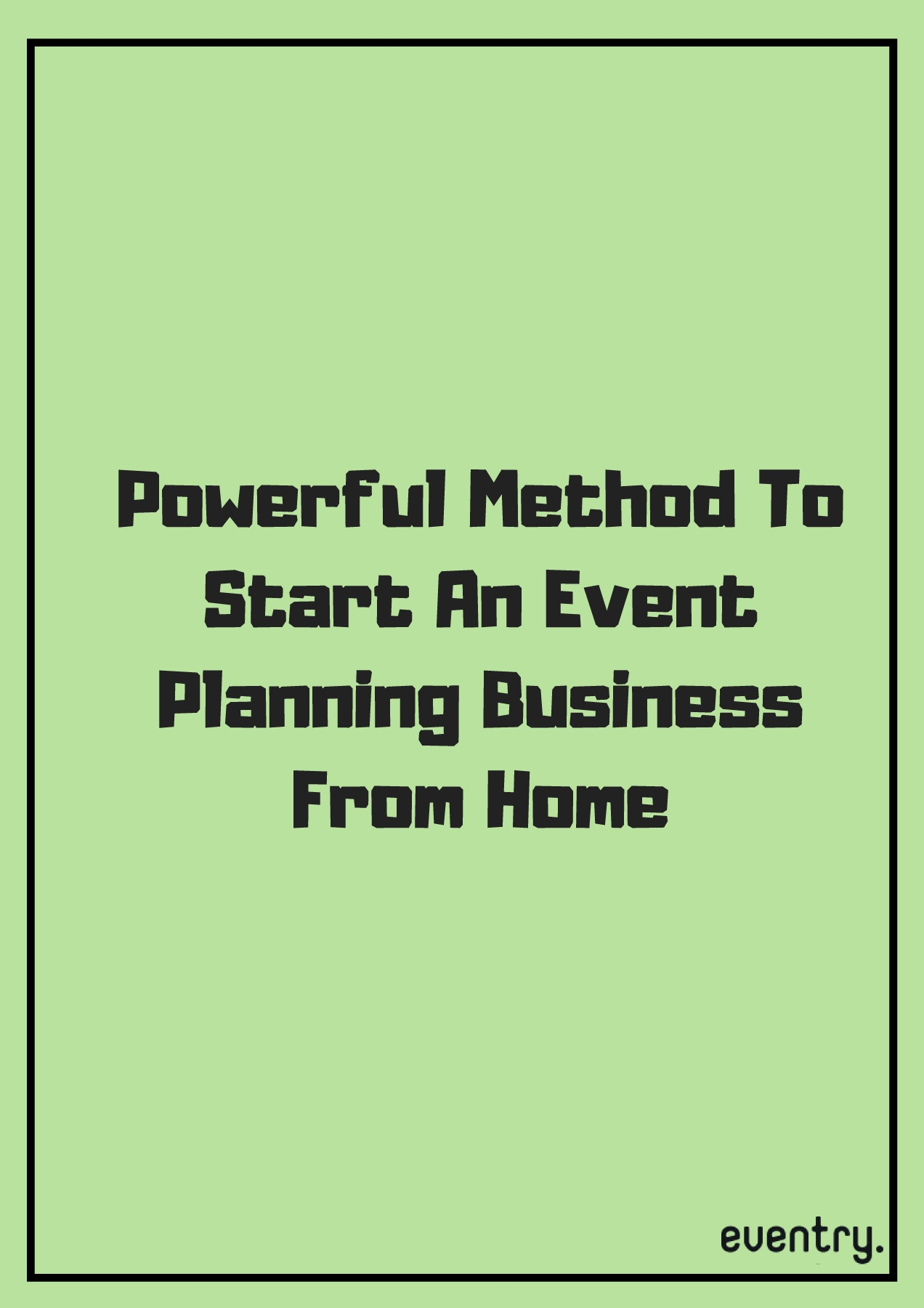 starting a event planning business
