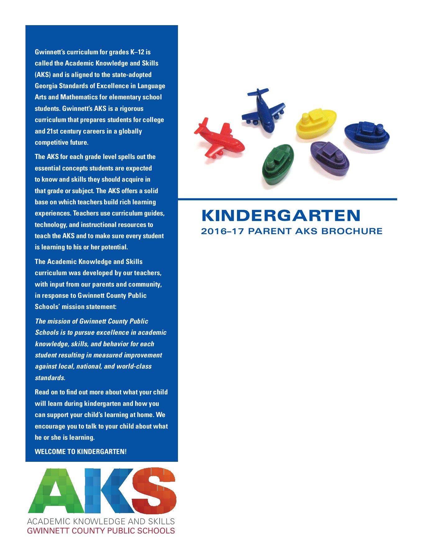 Kindergarten AKS Pages 1 - 6 - Text Version | AnyFlip
