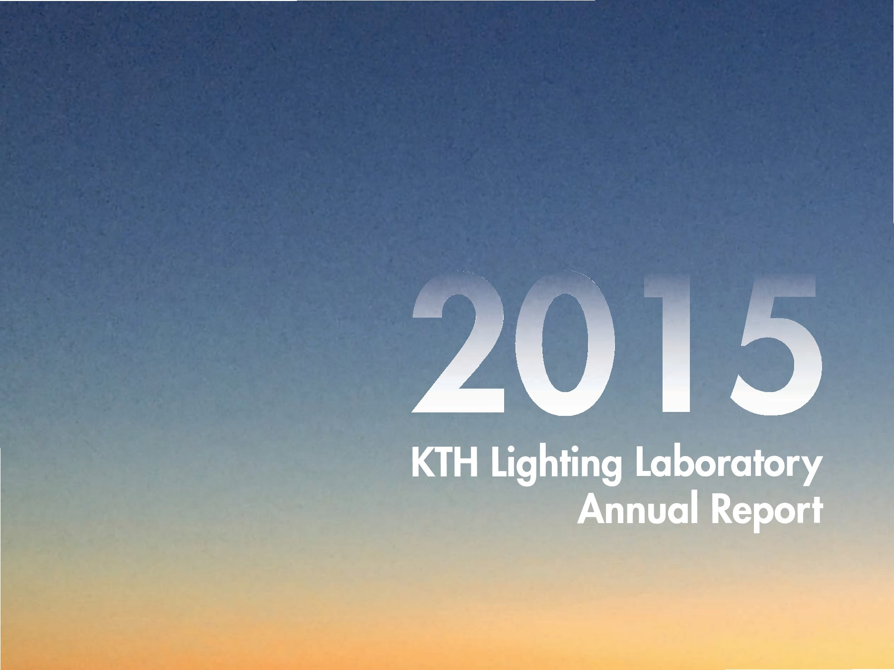 Kth lighting lab annual report pages text version