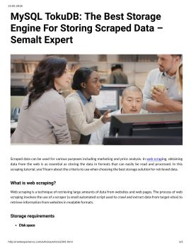 UiPath: A Reliable Web Scraping Service – Semalt Expert Pages 1 - 2