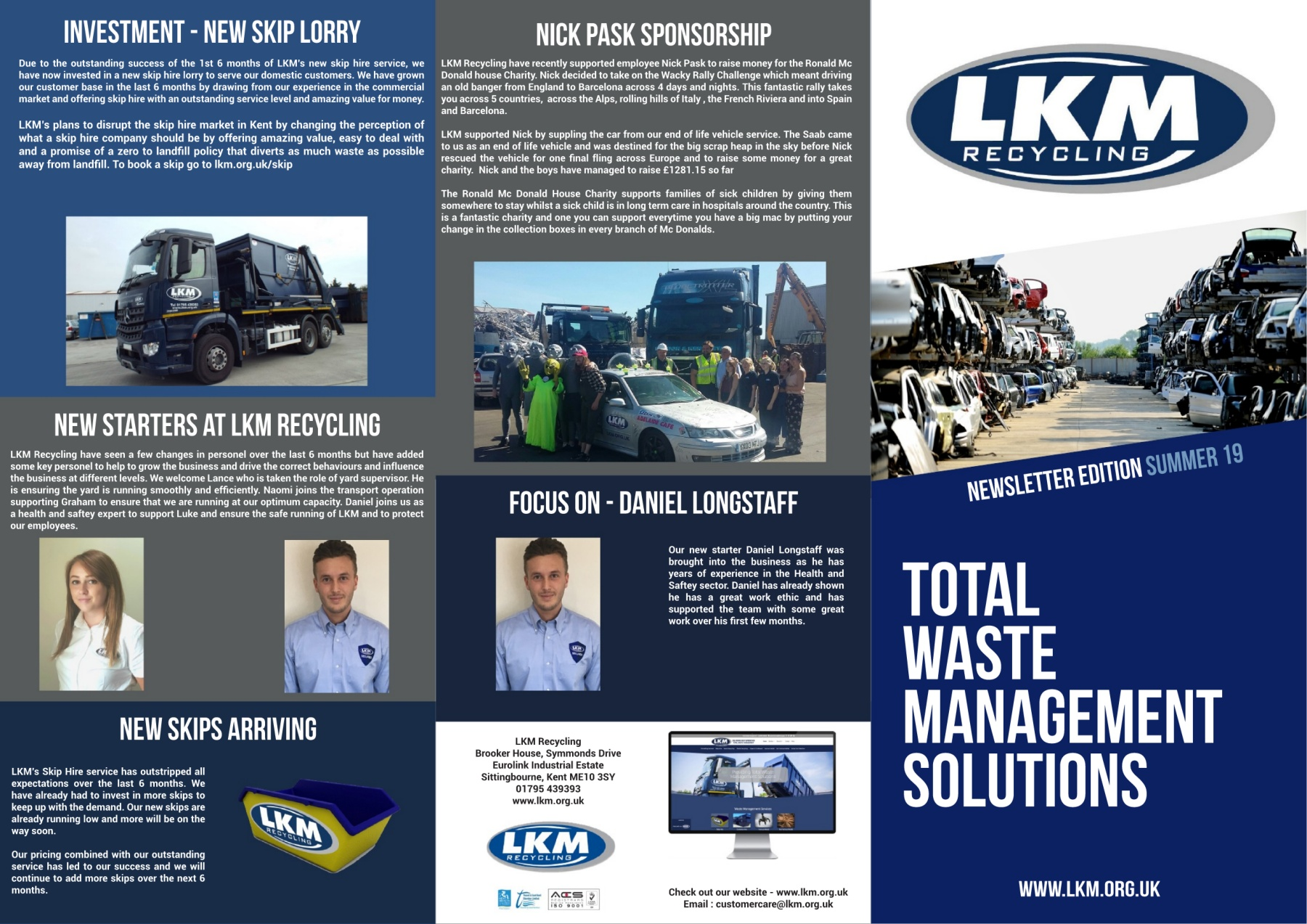 Lkm Summer 19 Newsletter Pages 1 2 Text Version Anyflip