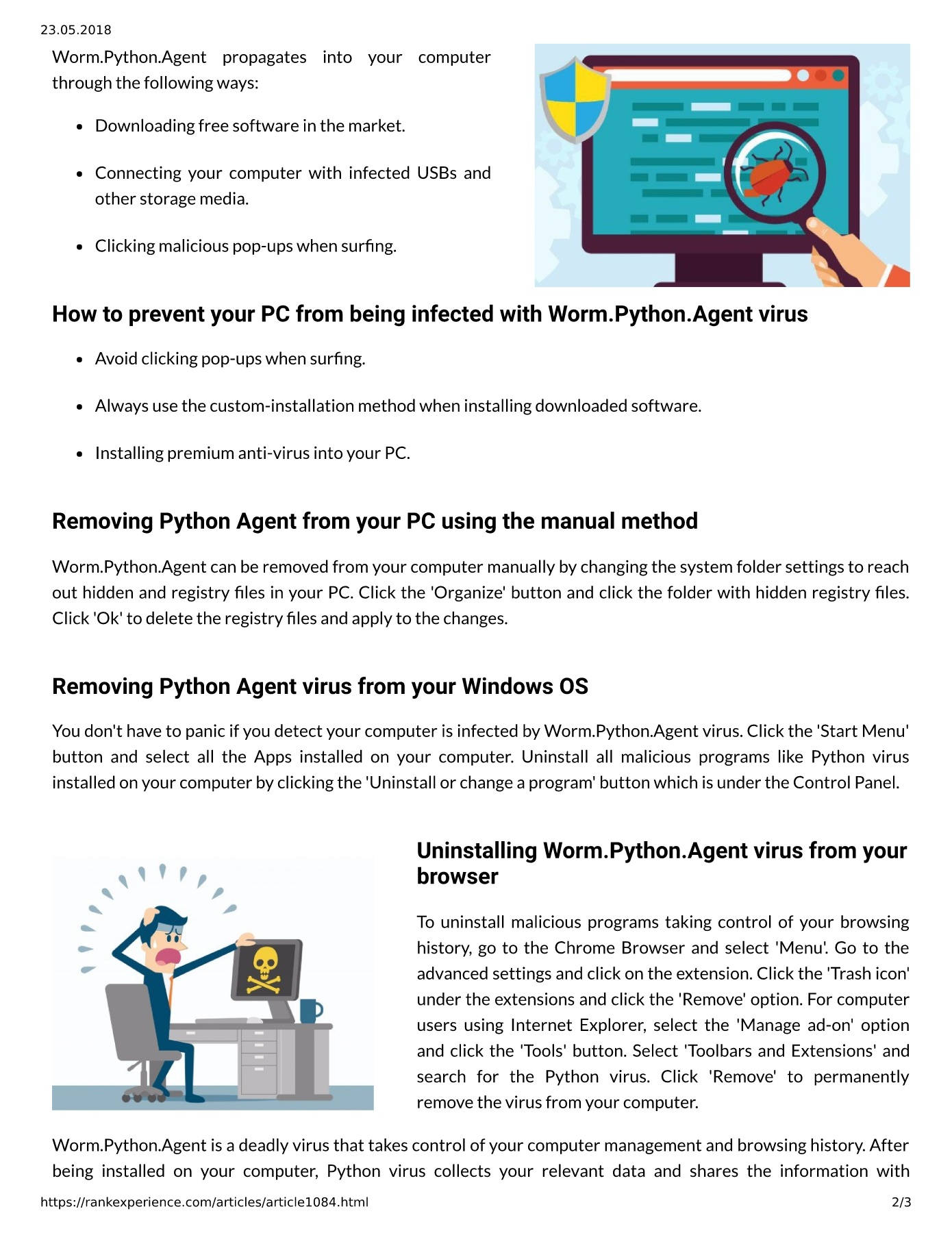 Semalt: Persuasive Tips On How To Remove Deadly Python Agent From