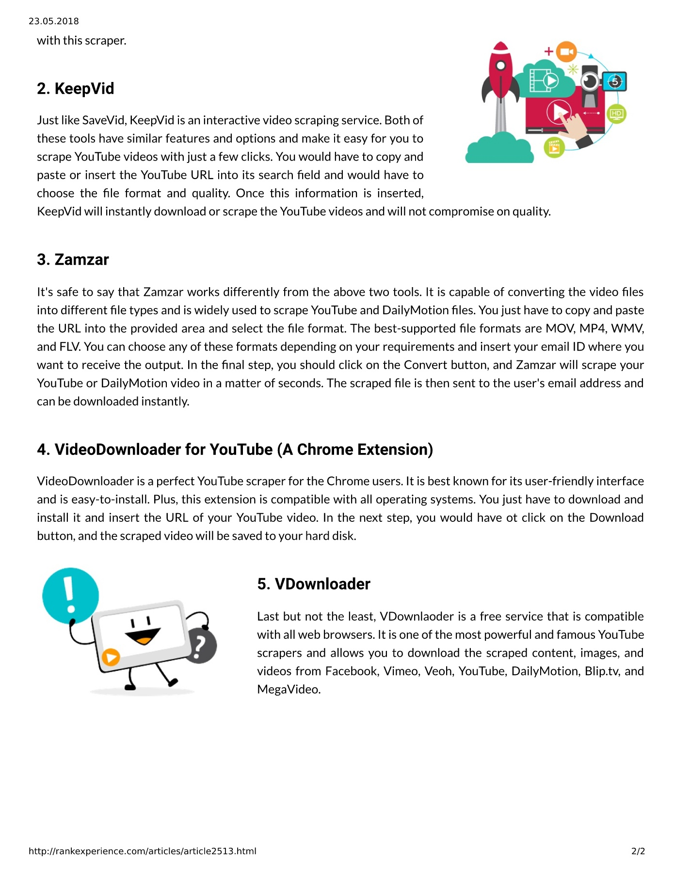 Semalt Provides The Different Ways To Scrape Youtube Videos Pages 1