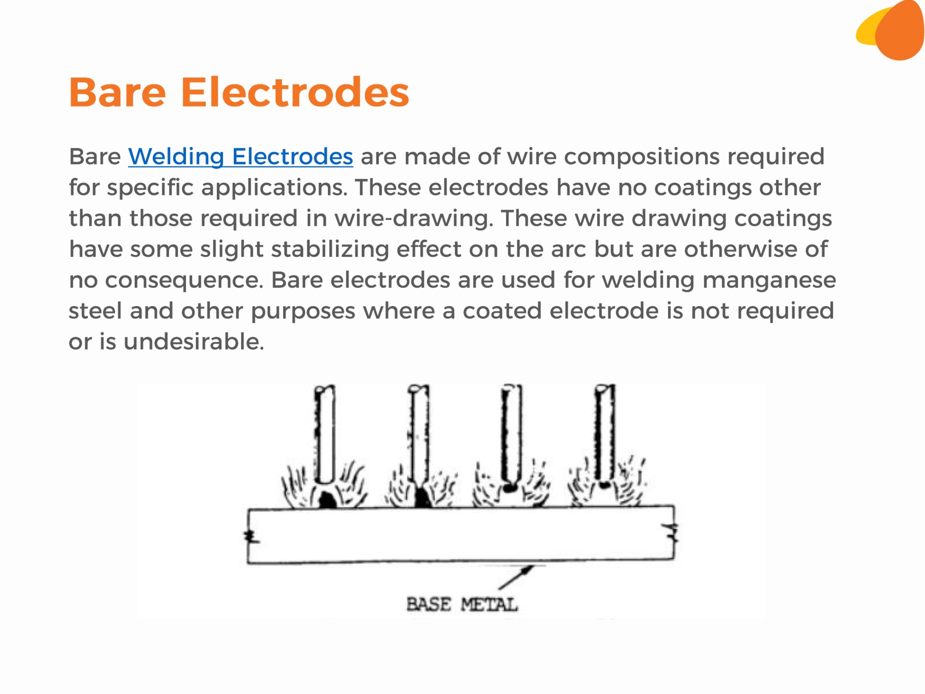 Types Of Electrodes Pages 1 7 Text Version Anyflip Gas Welding Line Diagram