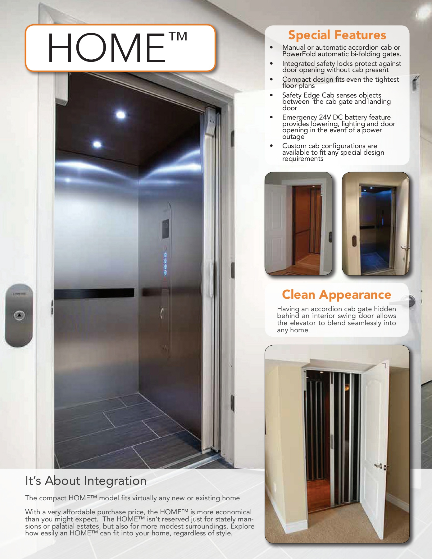 Alliance Elevator - Residential (HOME™)