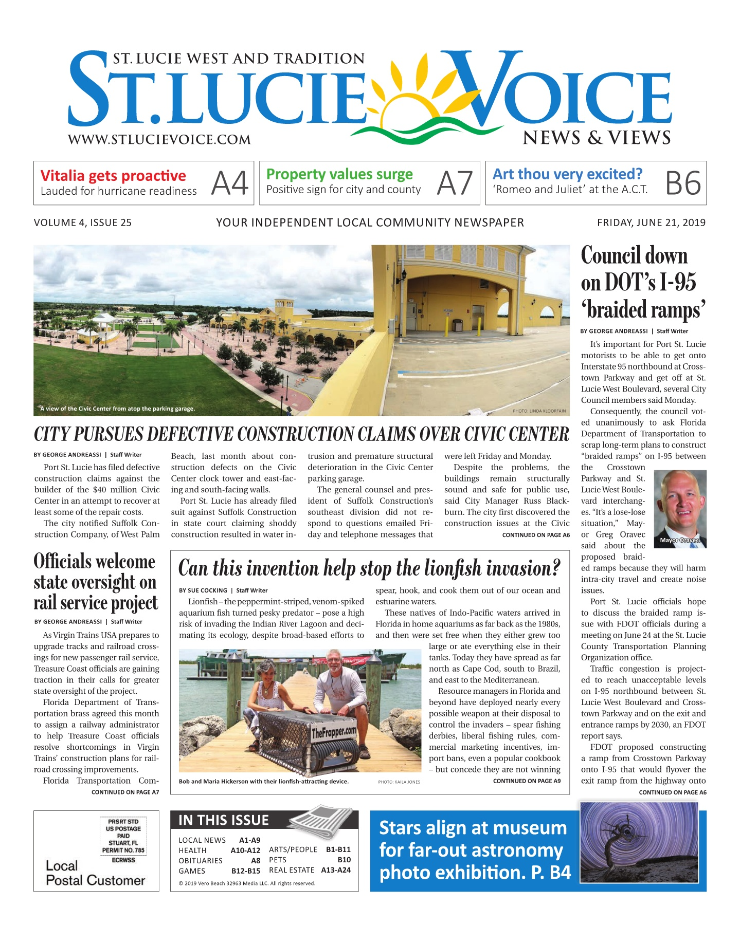 06/21/2019 ISSUE 25 Pages 1 - 40 - Text Version   AnyFlip