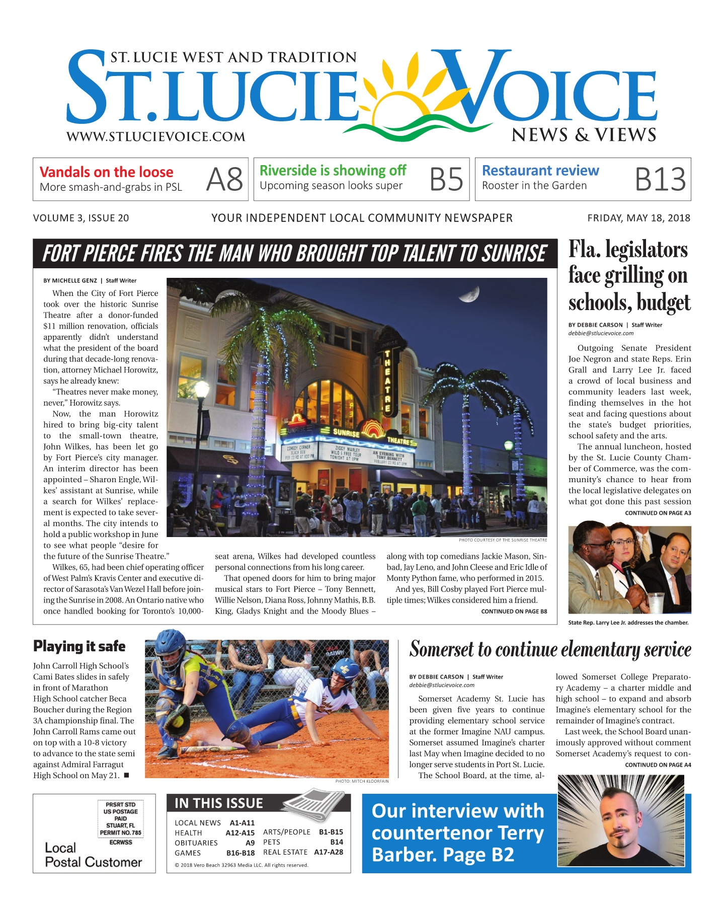 05 18 2018 Issue 20 Pages 1 48 Text Version Anyflip Bak Roll Cat Tidy 9 Inc Slvoice Issue20 051818 Opt