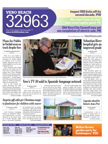 11 15 2018 Issue 46 Pages 1 50 Text Version Anyflip