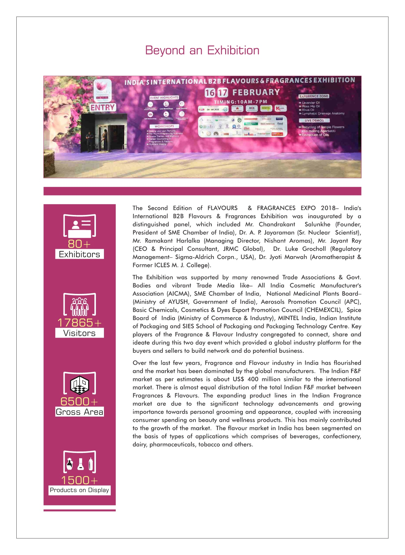 F&F Expo 2019 Brochure Pages 1 - 16 - Text Version | AnyFlip