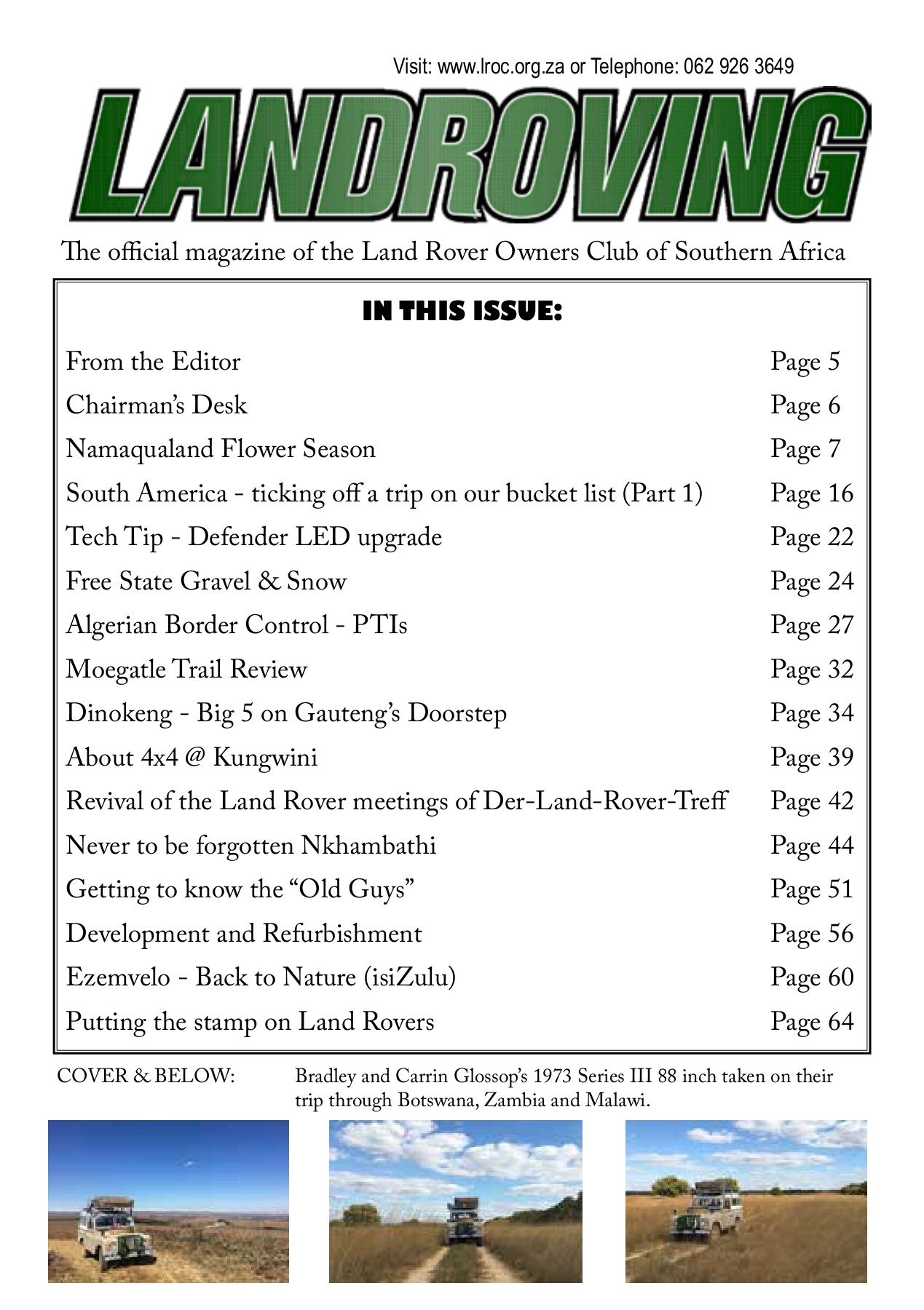 Landroving 125 Pages 1 50 Text Version Anyflip Driving Light Wiring Australian Land Rover Owners