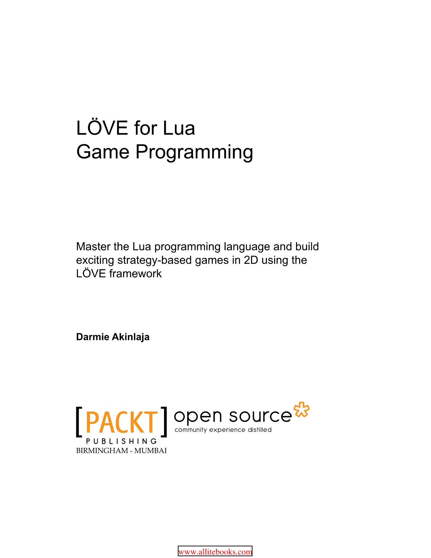 LOVE for Lua Game Programming Pages 1 - 50 - Text Version | AnyFlip