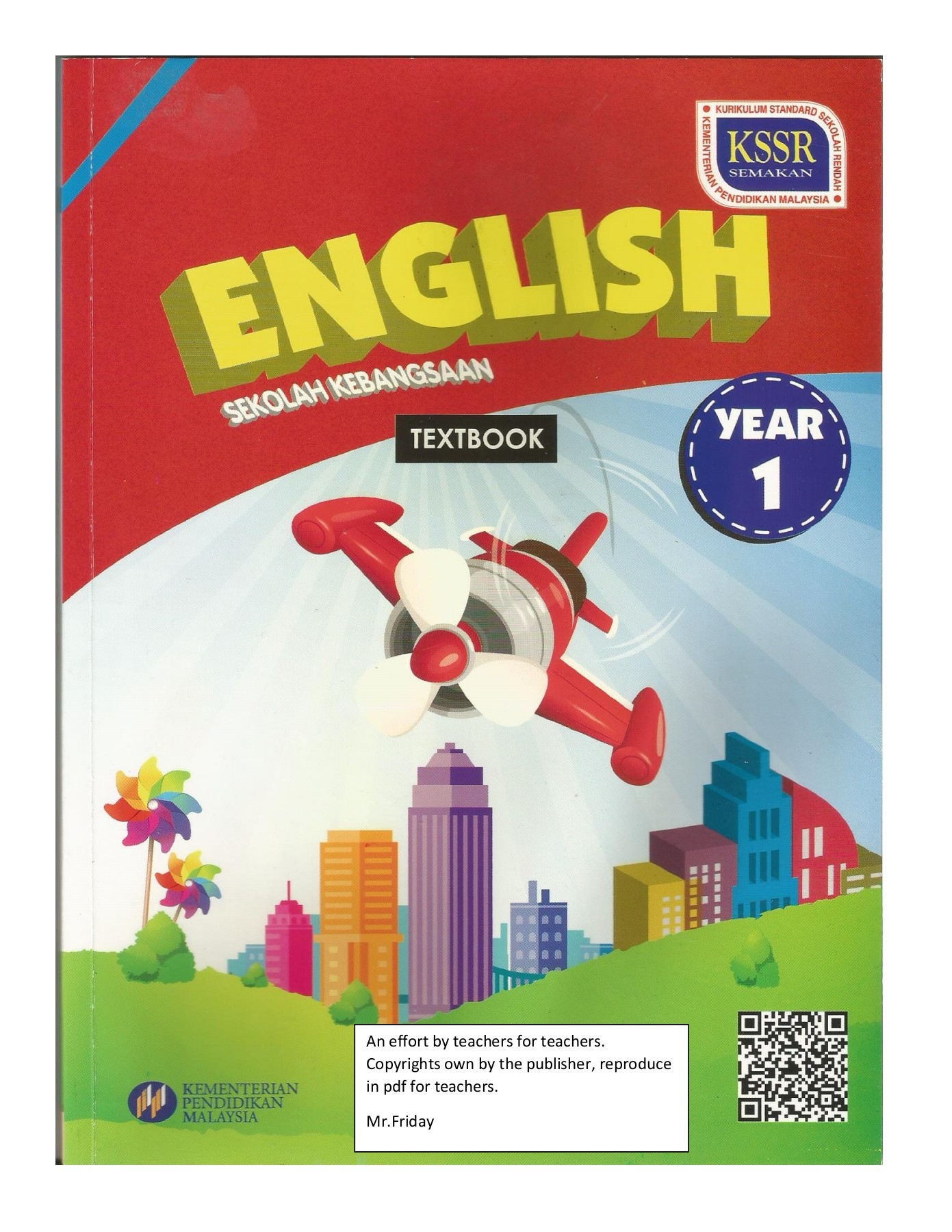 YEAR 1 (REVISED) 2017 ENGLISH TEXTBOOK Pages 1 - 50 - Text Version
