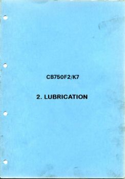 3  Honda CB 750 K7 - INSPECTION & ADJUSTMENT Pages 1 - 19 - Text