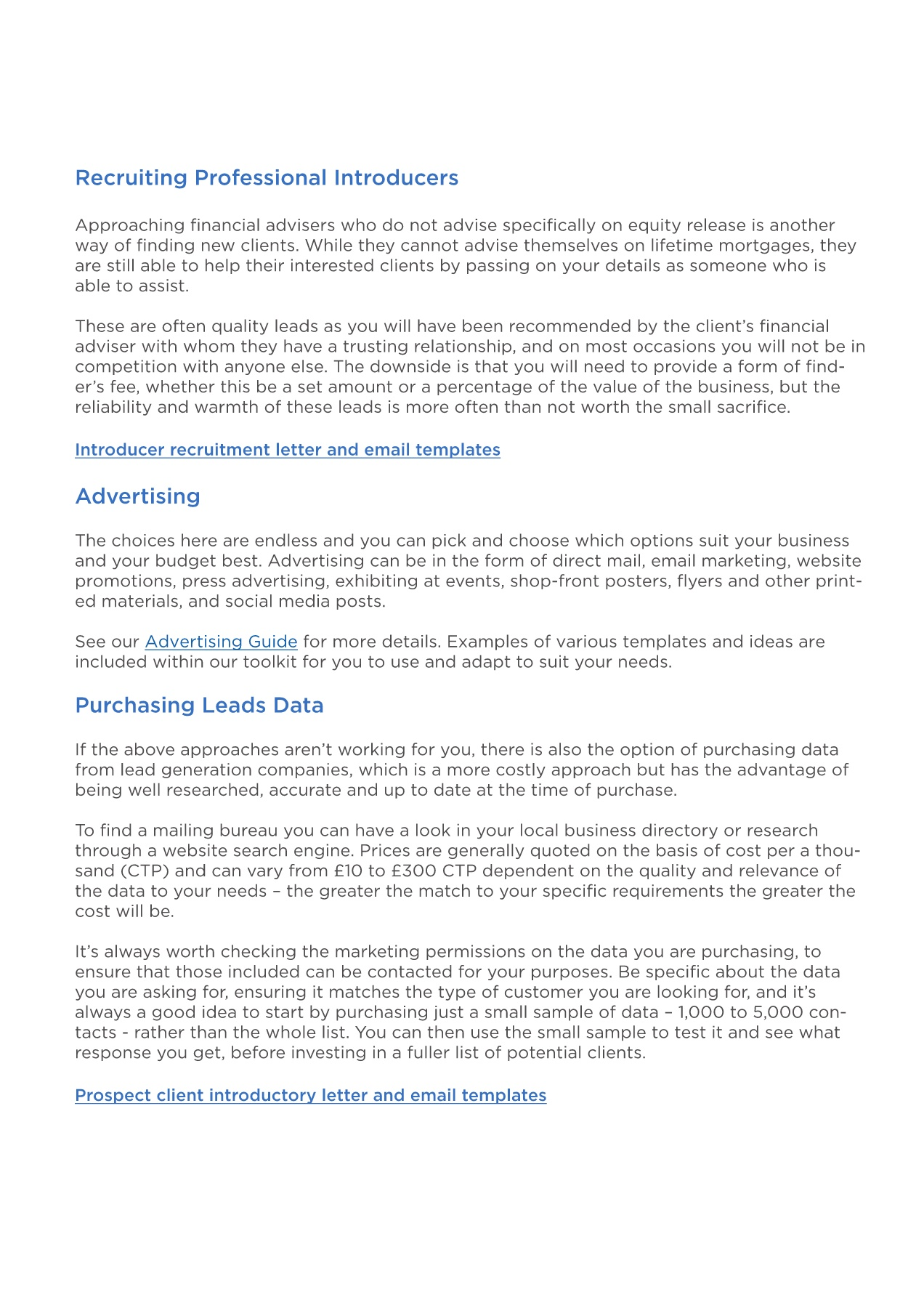 Lead Generation Guide Pages 1 2 Text Version Anyflip