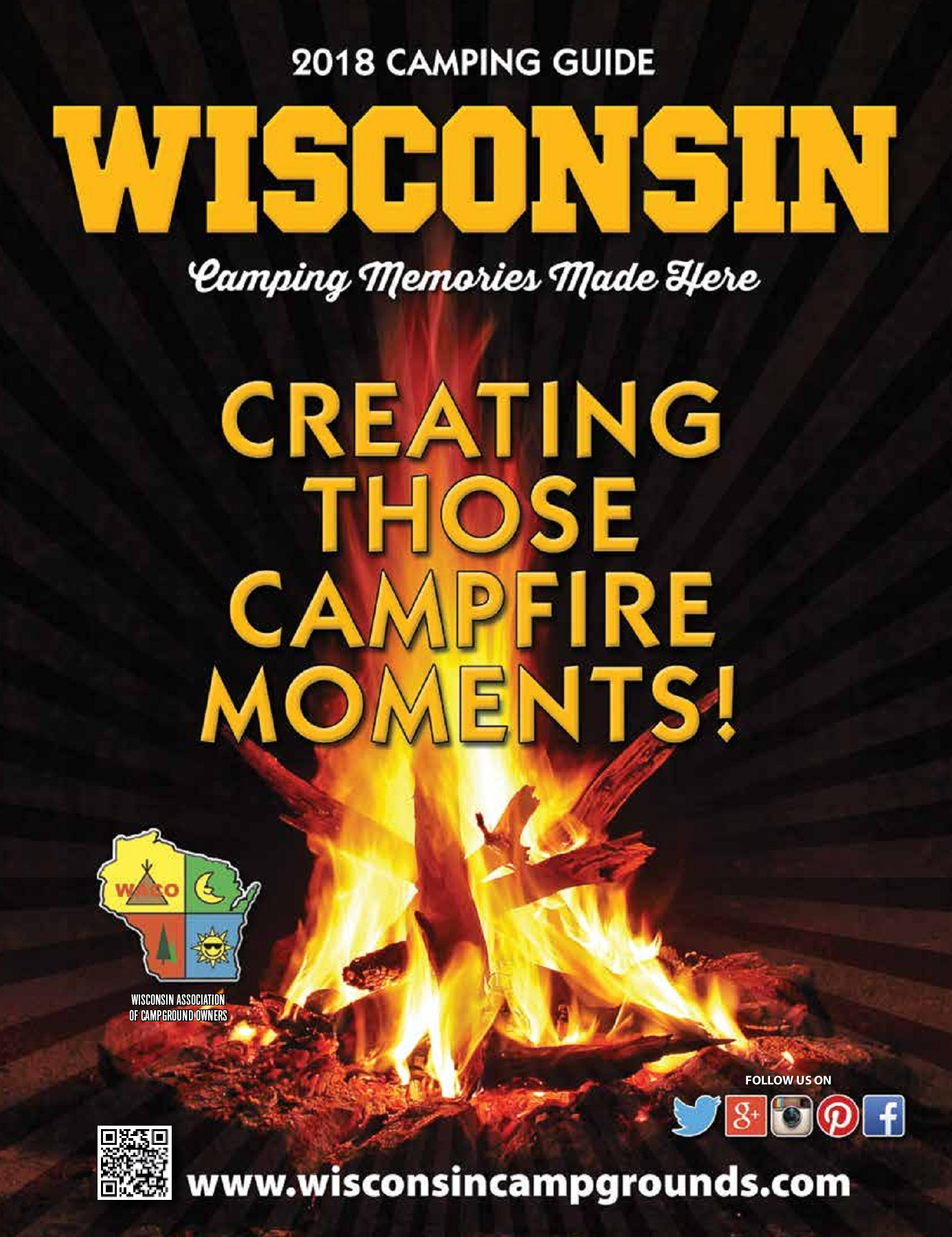 The 2018 Wisconsin Campground Directory - WACO Pages 1 - 50