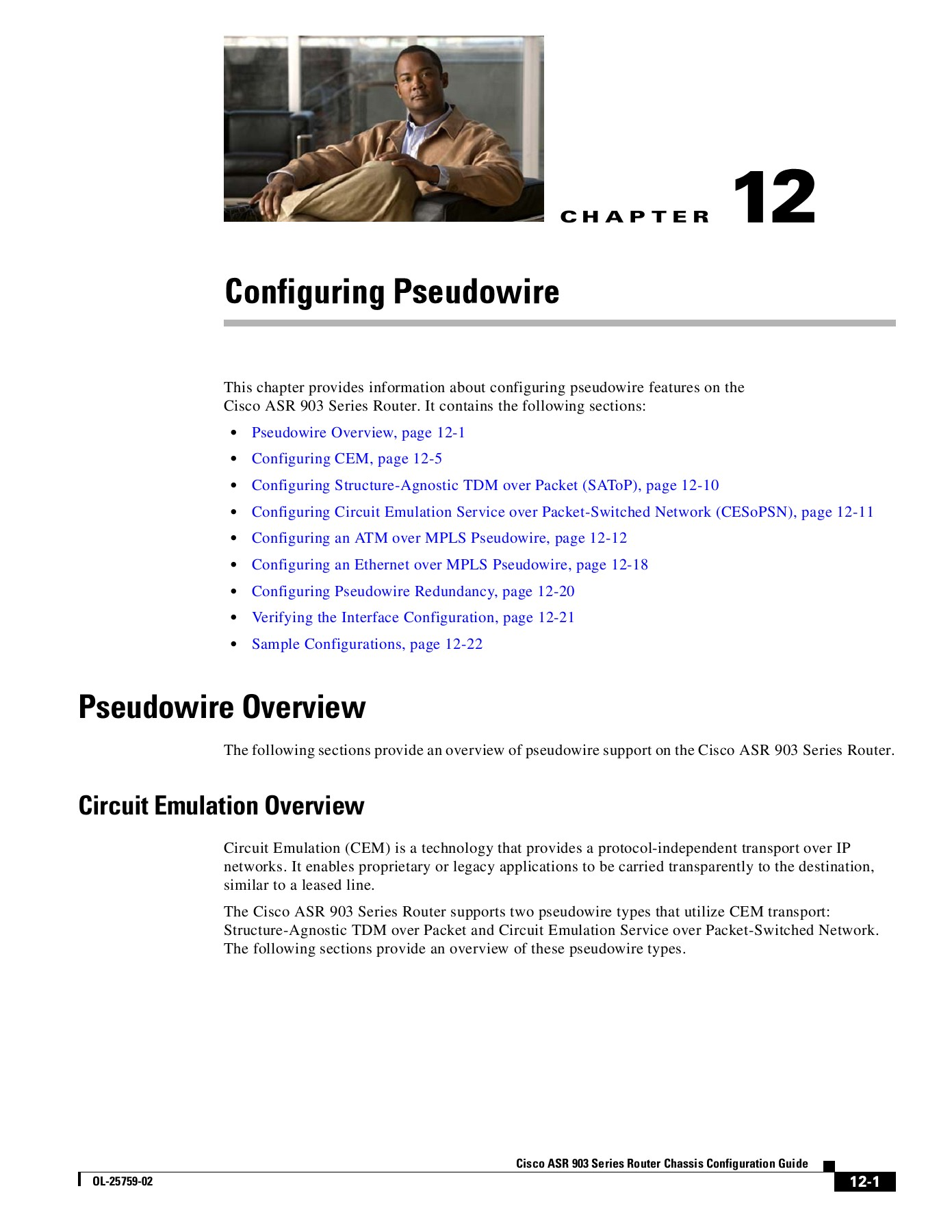 Configuring Pseudowire - Cisco Systems Pages 1 - 32 - Text