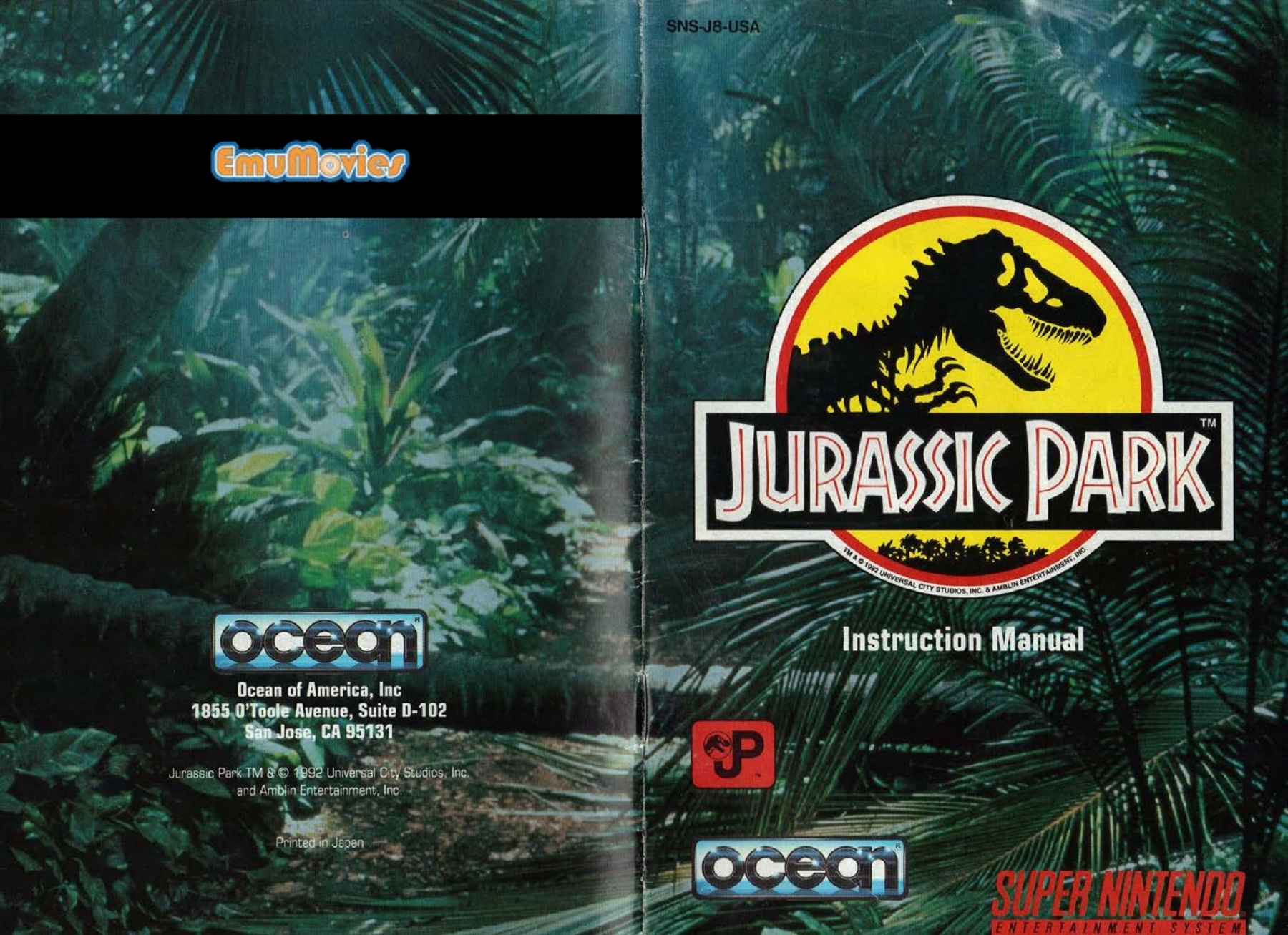 Jurassic Park 1993 Ocean Software Pages 1 16 Text Version Anyflip