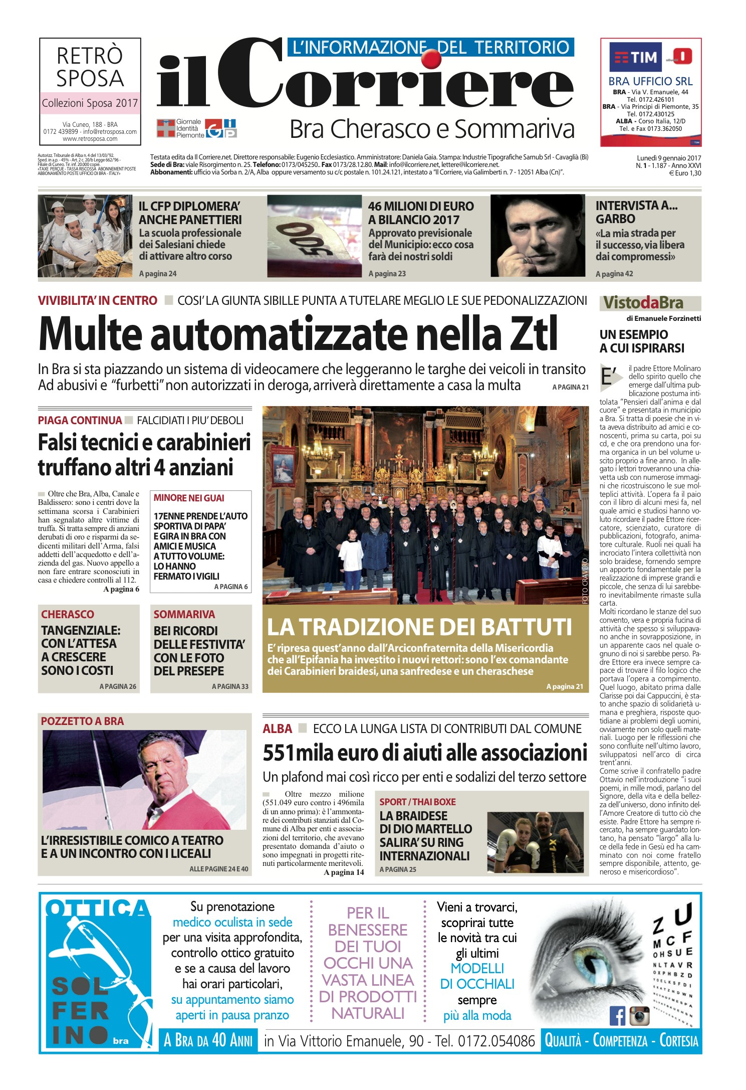 89dd622ba5c9 Corriere Bra n. 1/2017 Pages 1 - 48 - Text Version | AnyFlip