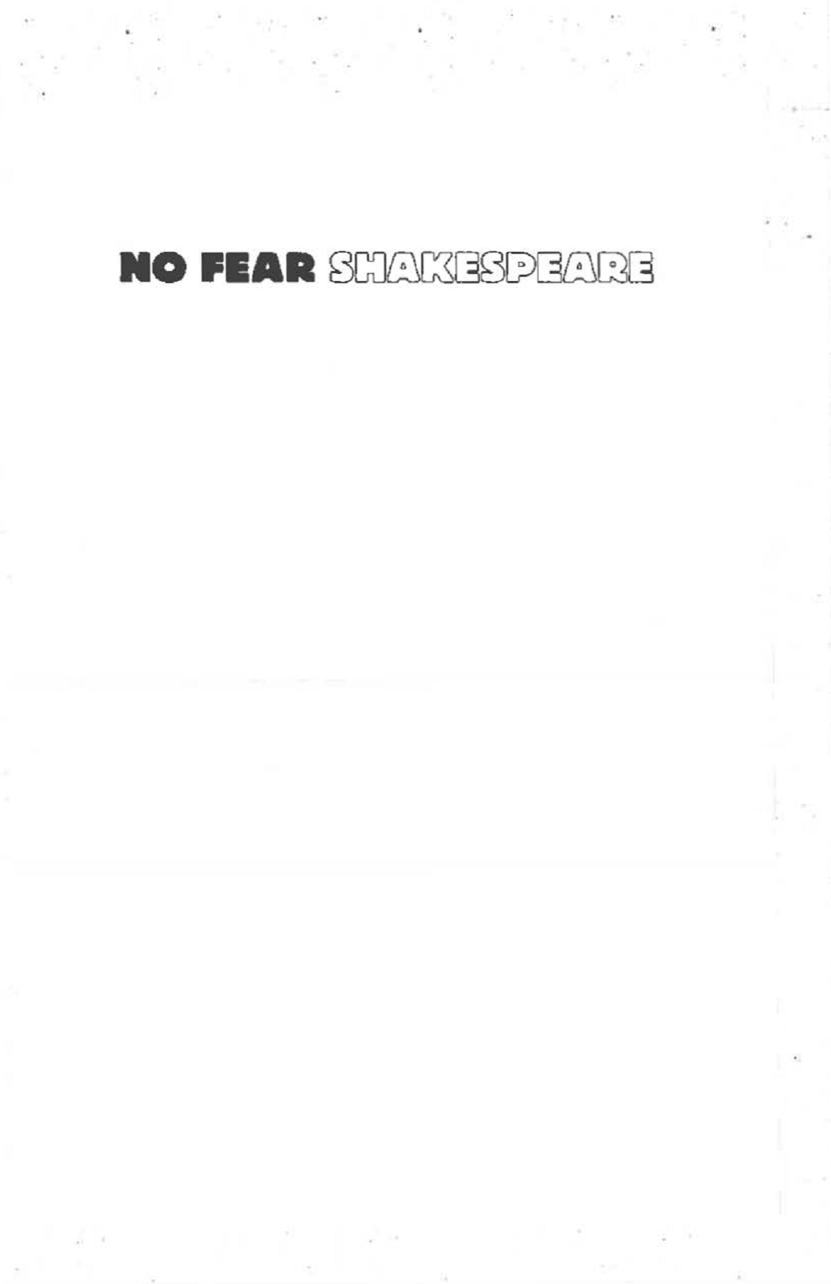 0bd99fe8a No Fear Shakespeare - Romeo and Juliet Pages 1 - 50 - Text Version | AnyFlip